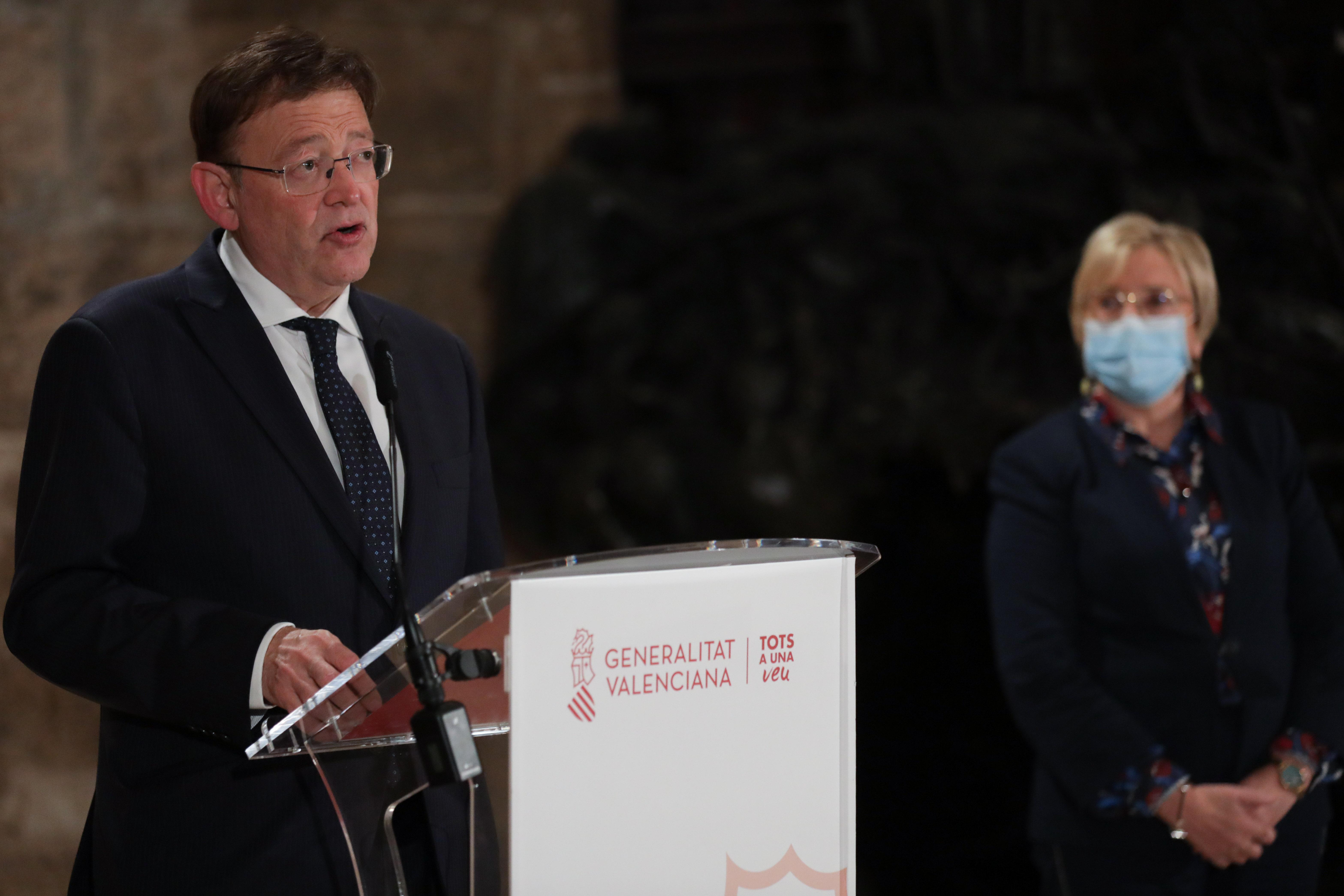 """Ximo Puig anuncia el tancament perimetral de la Comunitat Valenciana durant una setmana per a protegir la salut de la ciutadania enfront de l""""avan..."""