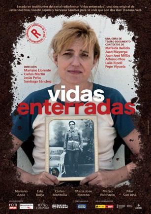 """El Museu de Belles Arts de Castelló acoge """"Vidas enterradas"""" un espectáculo de teatro en torno a la memoria histórica"""