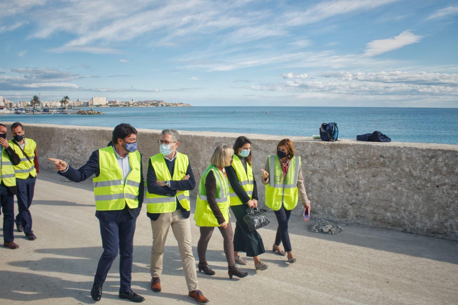 Arcadi España anuncia el inicio de las obras del tramo pendiente de Vía Parque para su próxima apertura