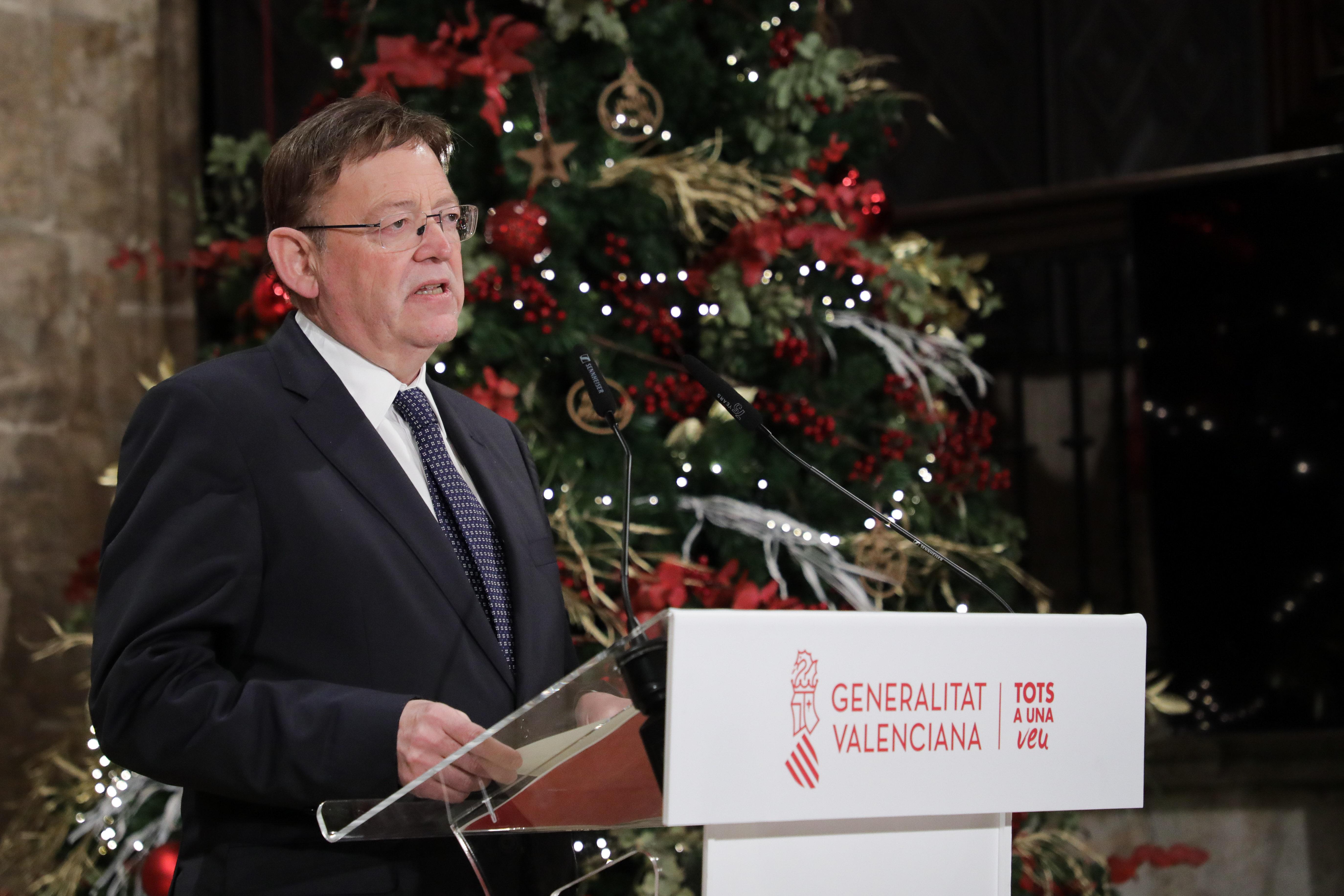 """Ximo Puig anuncia noves mesures restrictives per al període nadalenc a fi de protegir la salut de la població """"per prudència, seguretat i responsa..."""