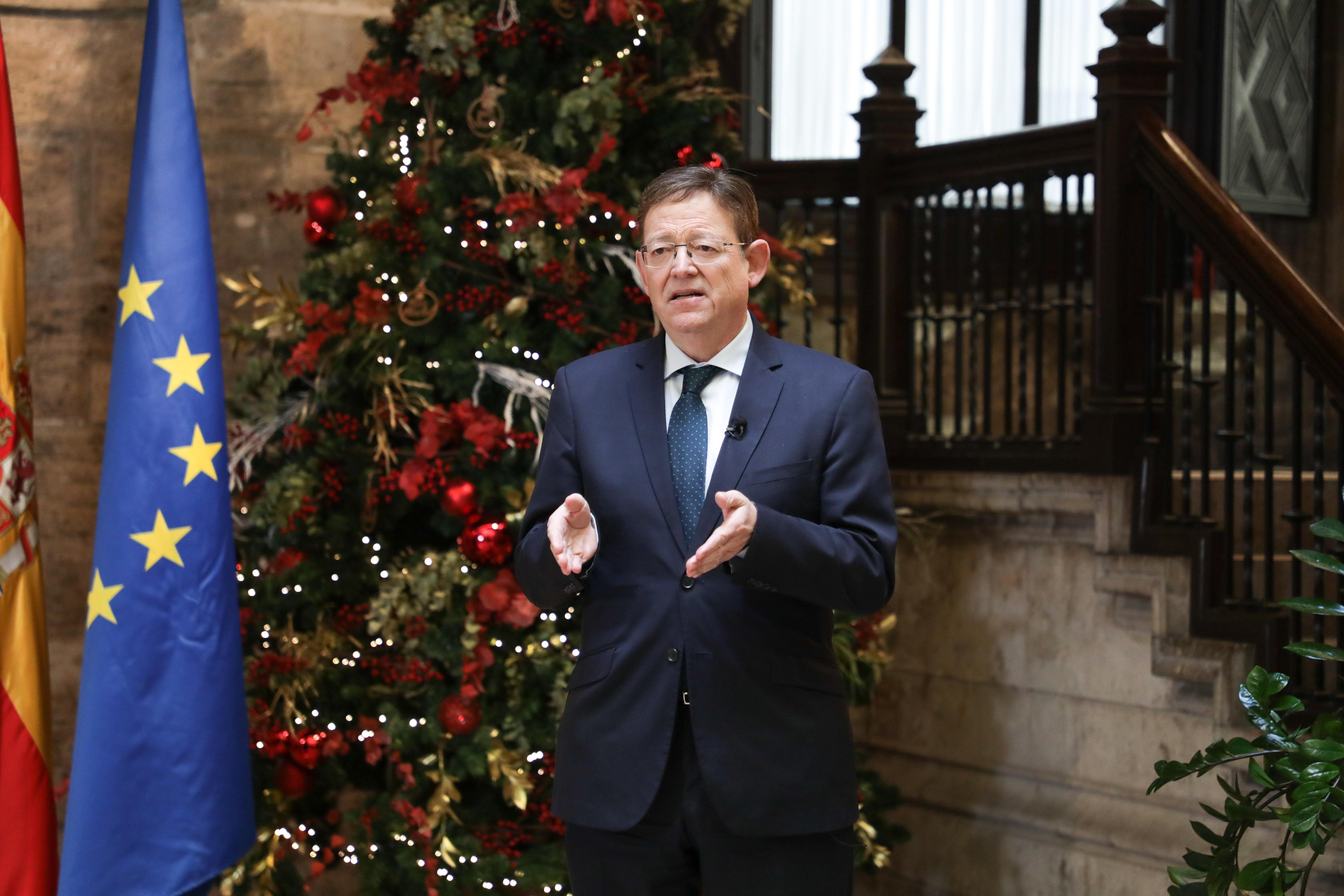 """Ximo Puig demana a la ciutadania """"màxima prudència"""" aquest Nadal perquè """"és preferible deixar la cadira buida un any a deixar la cadira buida per ..."""