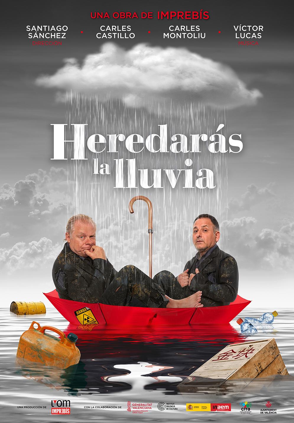 """L""""Om Imprebís estrena a Castelló """"Heredarás la lluvia"""", la seua nova obra transmèdia sobre la fi del món"""