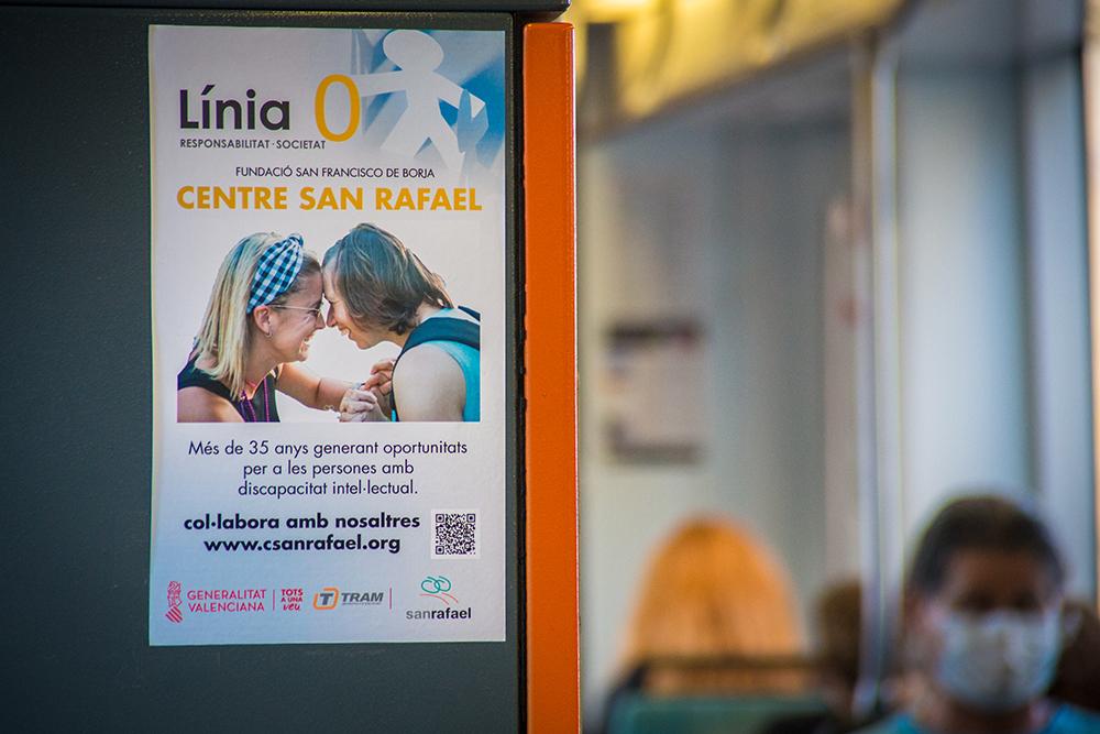 """Metrovalencia y TRAM d""""Alacant impulsaron 35 acciones solidarias durante 2020"""