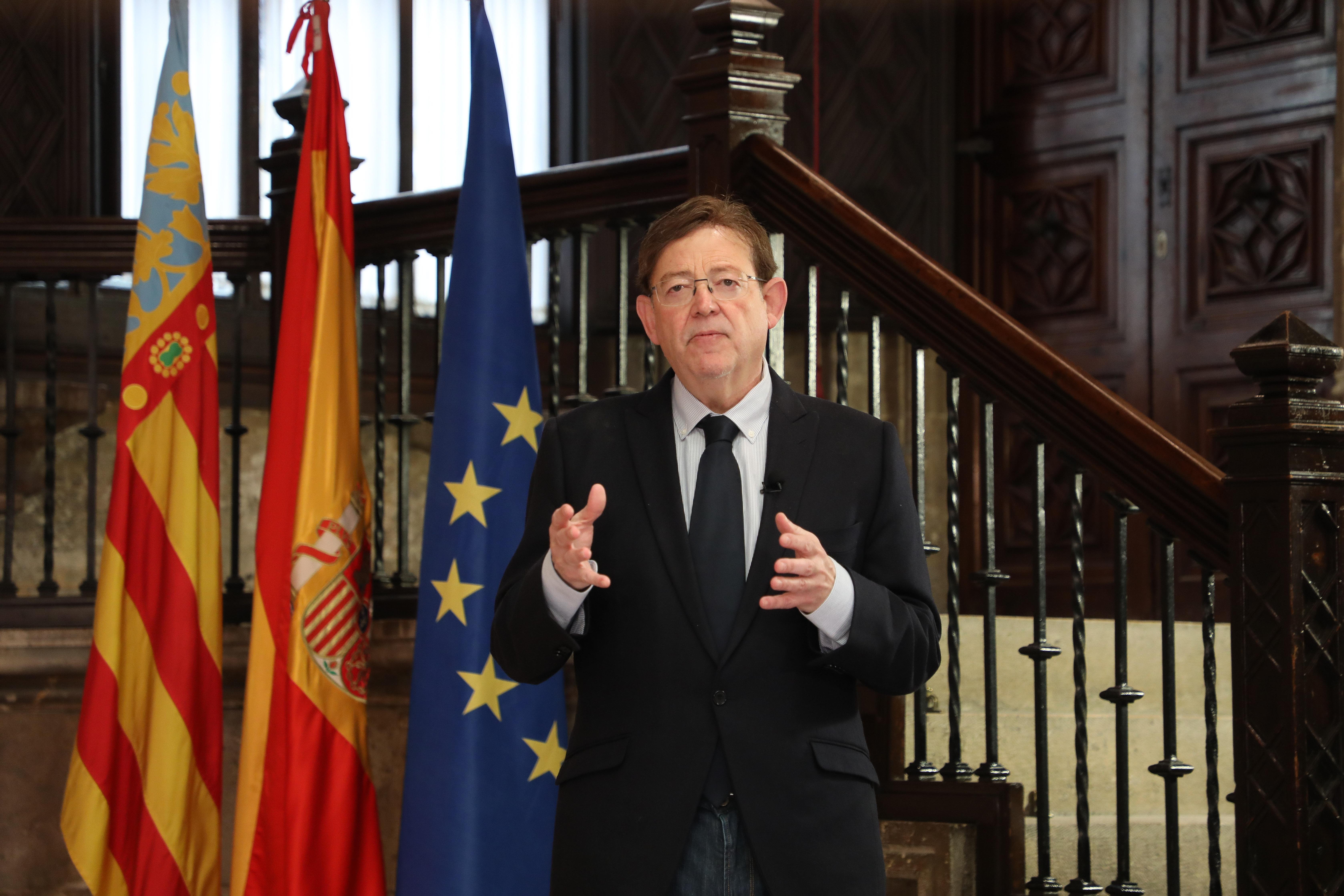 Ximo Puig anuncia noves restriccions que inclouen la limitació de les reunions al nucli de convivència i el confinament perimetral de grans ciutat...