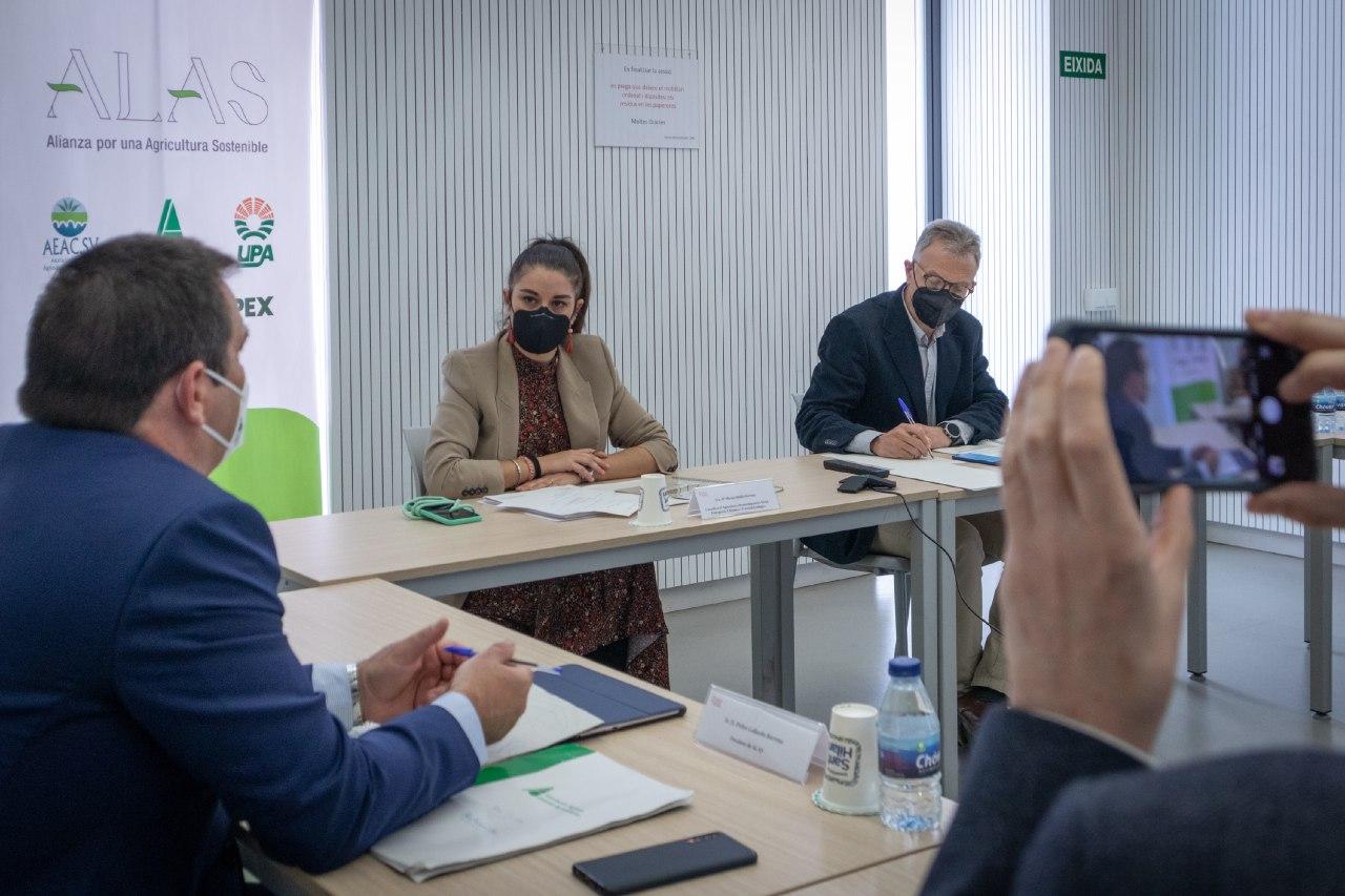 """Cooperatives i entitats agràries presenten l""""Aliança per una Agricultura Sostenible"""