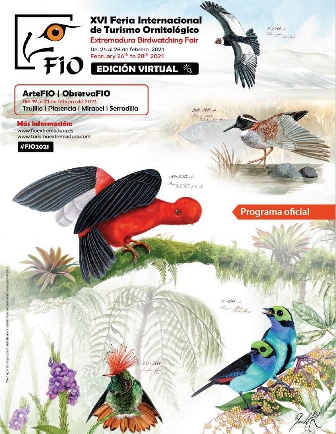 Turisme Comunitat Valenciana participa en la edición virtual de la XVI Feria Internacional de Turismo Ornitológico, FIO 2021