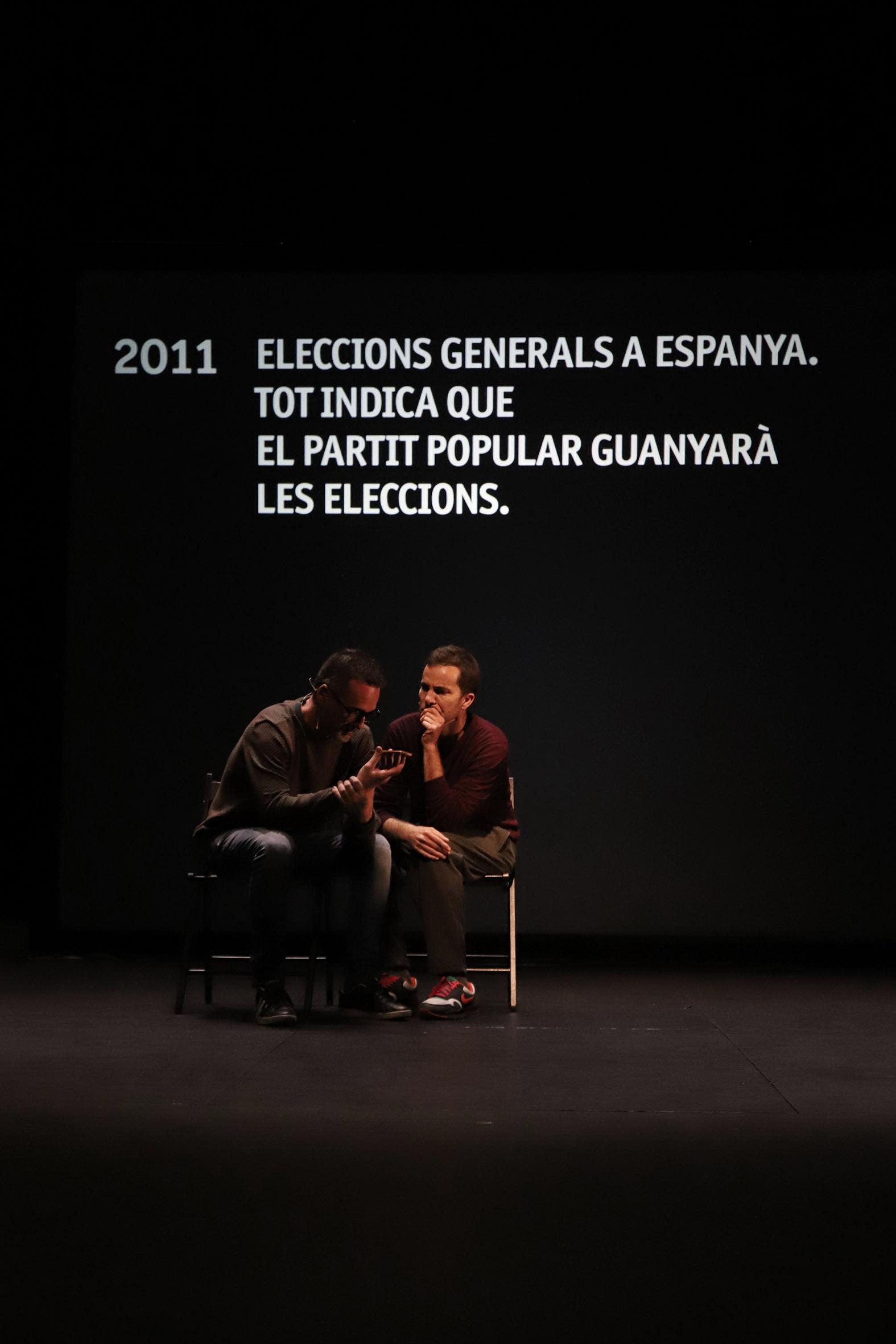 """El Institut Valencià de Cultura presenta """"La sort"""" en el Teatre Rialto"""