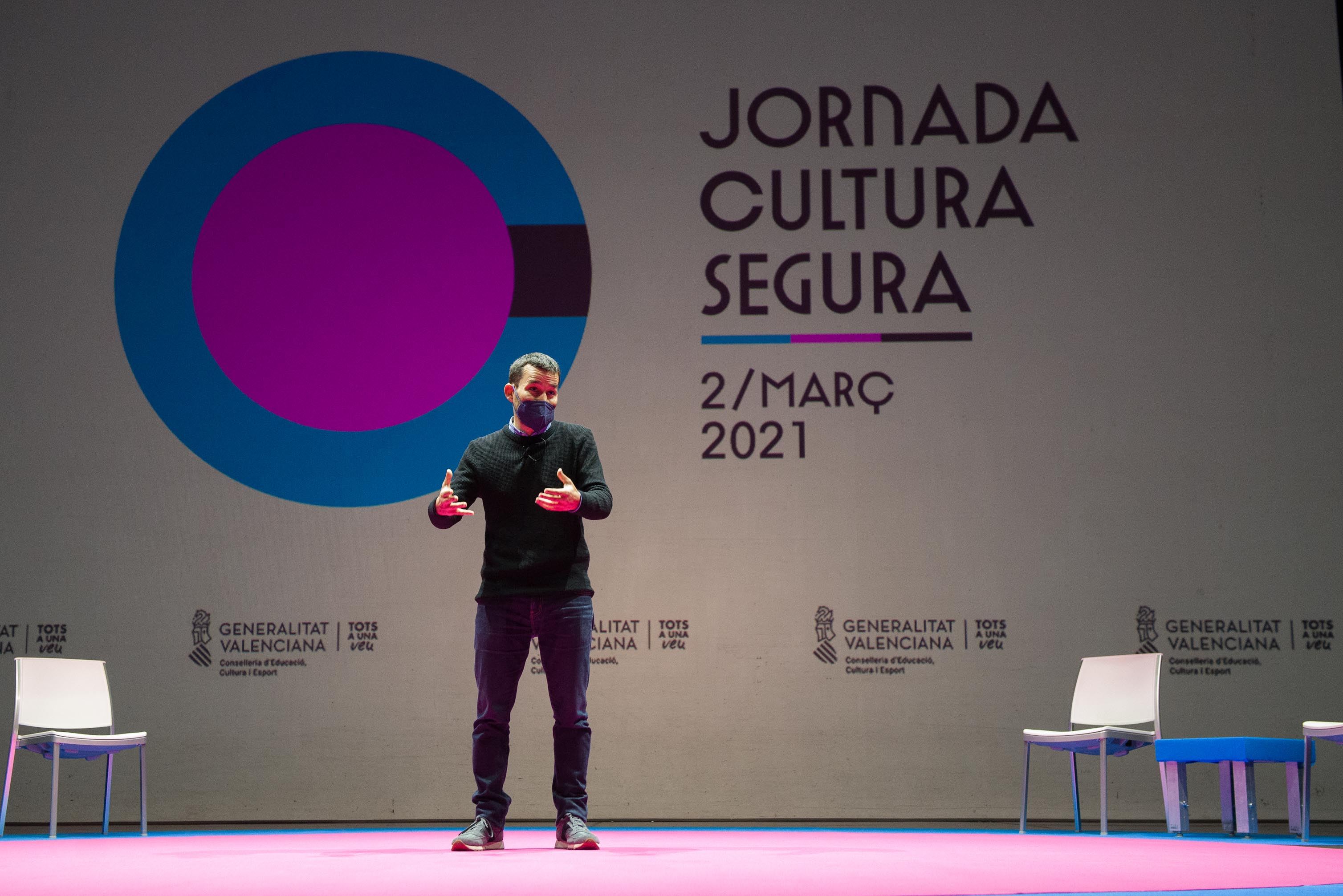 """Marzà: """"Encoratgem totes les administracions a continuar programant cultura"""""""