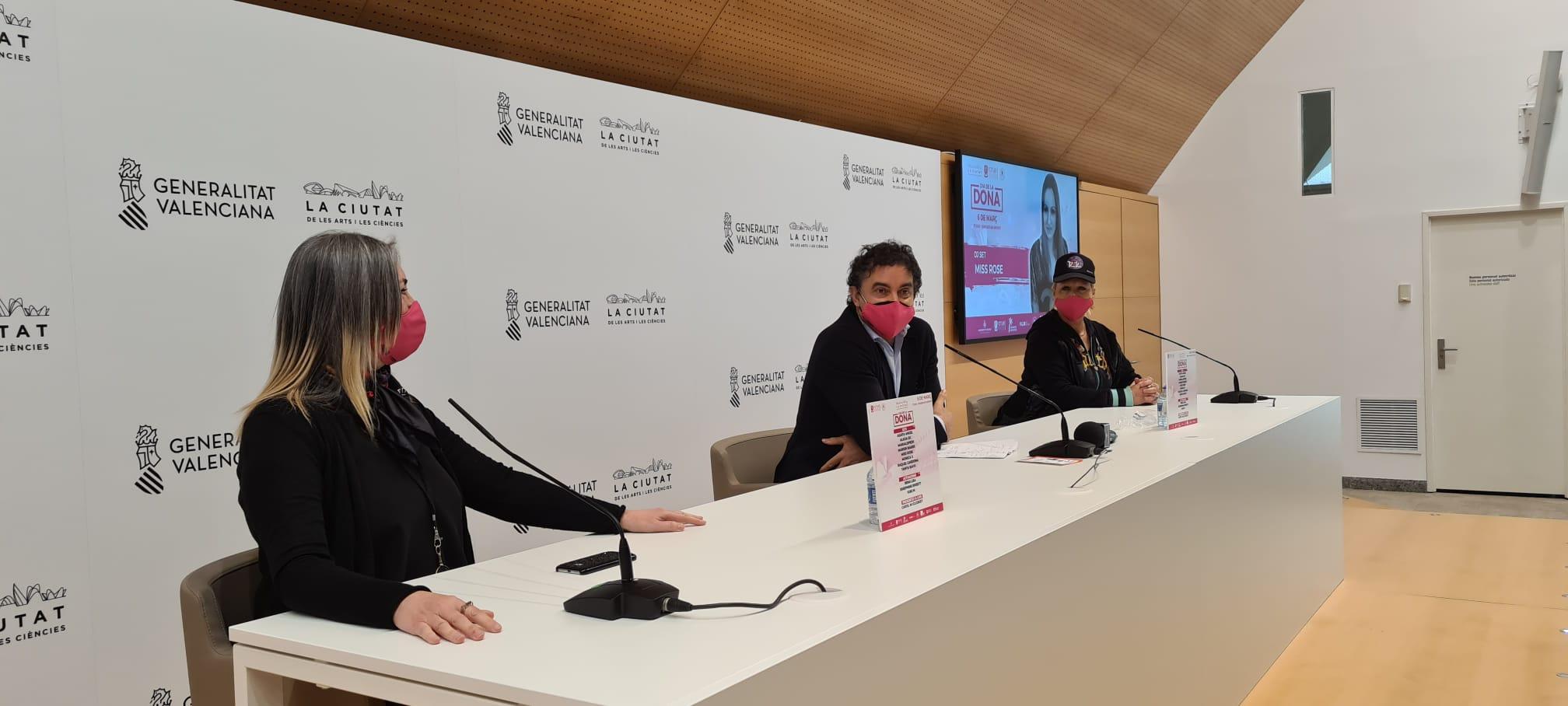 Colomer reivindica el vincle de la marca Mediterranew Music amb el Festival del Dia de la Dona per a donar visibilitat al talent femení
