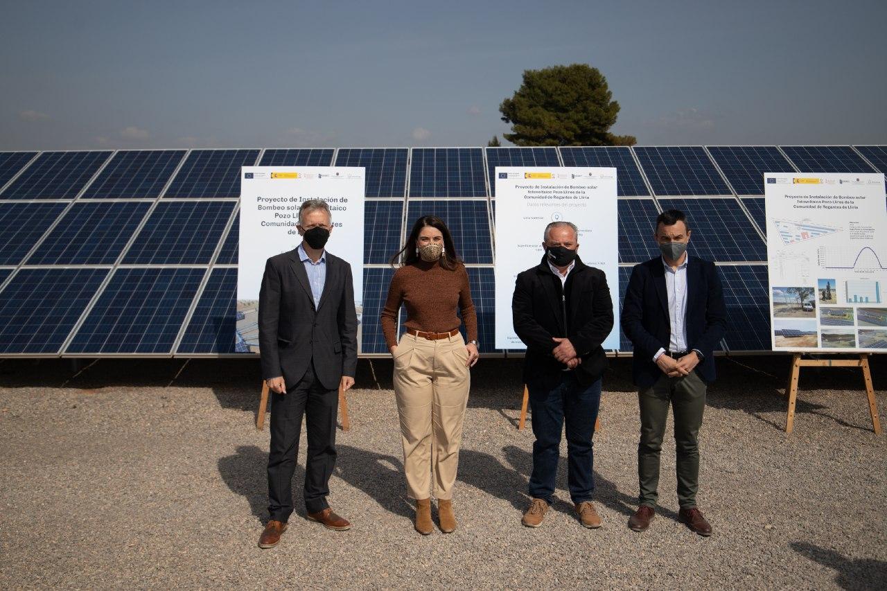 Las obras de modernización del regadío en Llíria reducirán la emisión de C02 en 1.000 toneladas/año y generarán un ahorro energético de 2.655 MWh