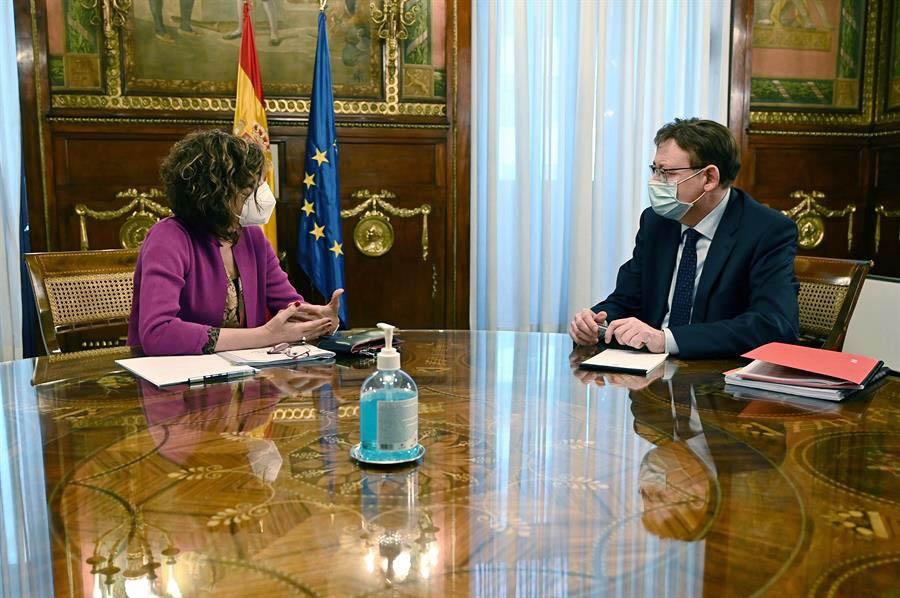 Ximo Puig anuncia que el Govern preveu aprovar en un mes el conveni que permetrà fer arribar a empreses i autònoms les ajudes destinades als secto...