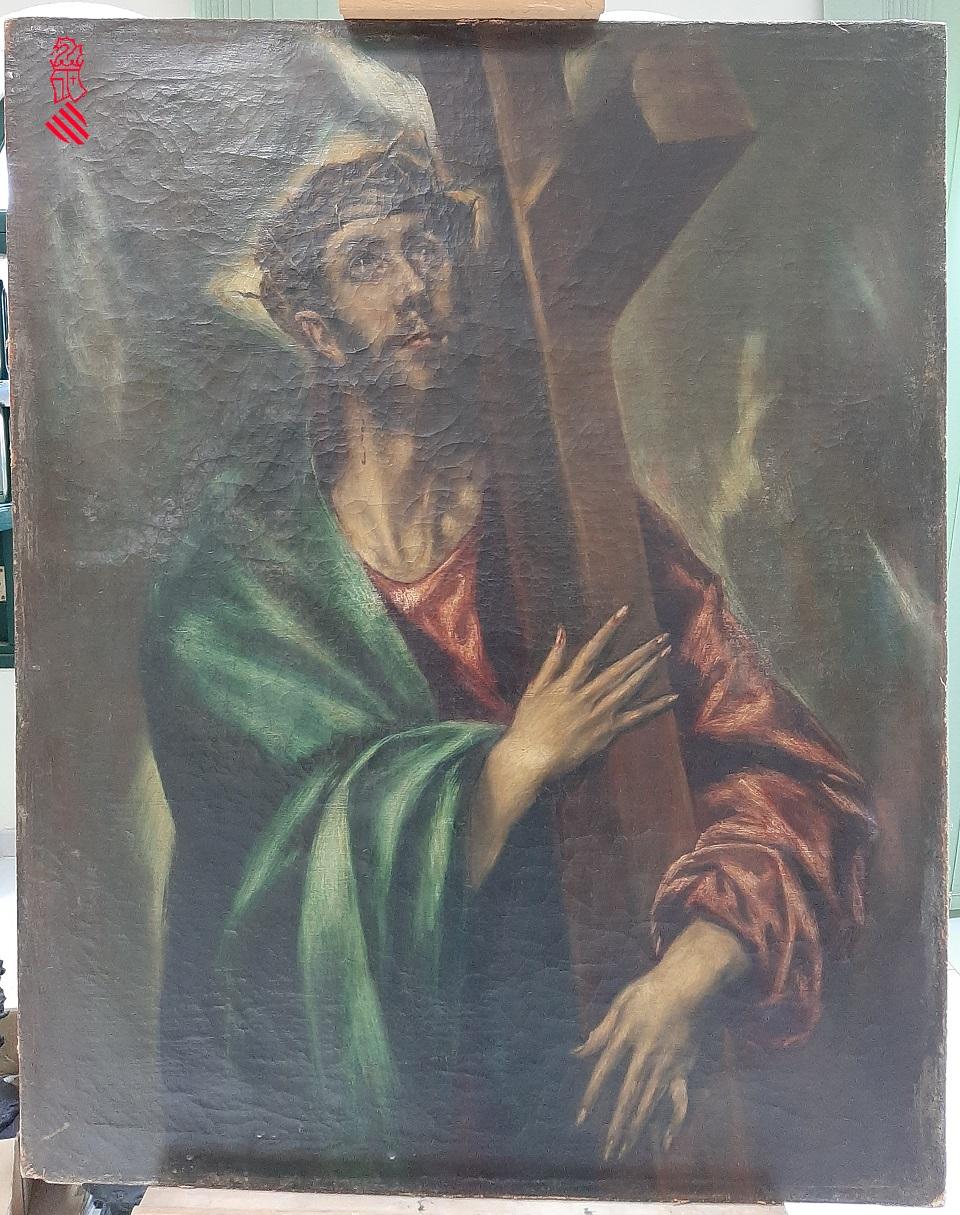 La Policía de la Generalitat interviene tres obras falsas de Modigliani, El Greco y Goya que iban a venderse por 12,5 millones en el mercado negro