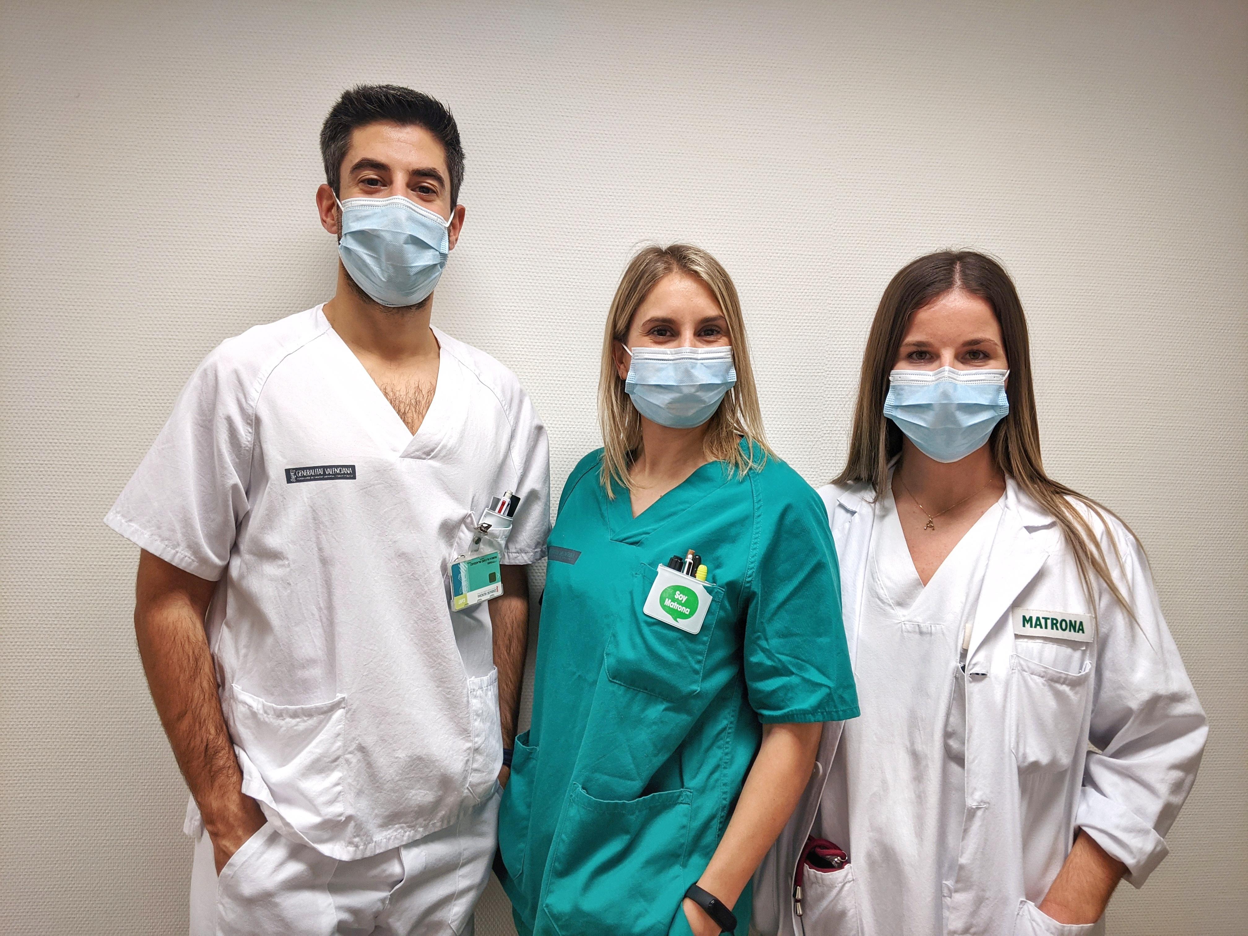 """Comares de l""""Hospital La Fe reflecteixen la importància del maneig de l""""estrés i de la por durant els parts de dones infectades amb COVID-19"""