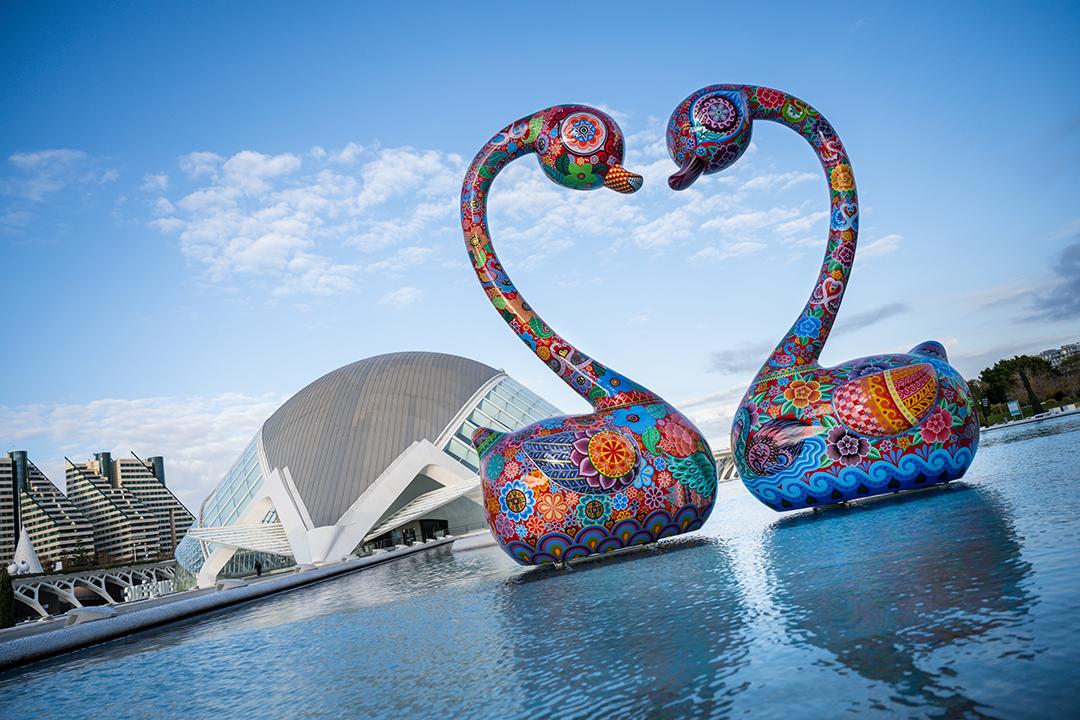 """Últimes setmanes per a visitar l""""exposició gratuïta """"Galàxia Hung"""" a la Ciutat de les Arts i les Ciències"""