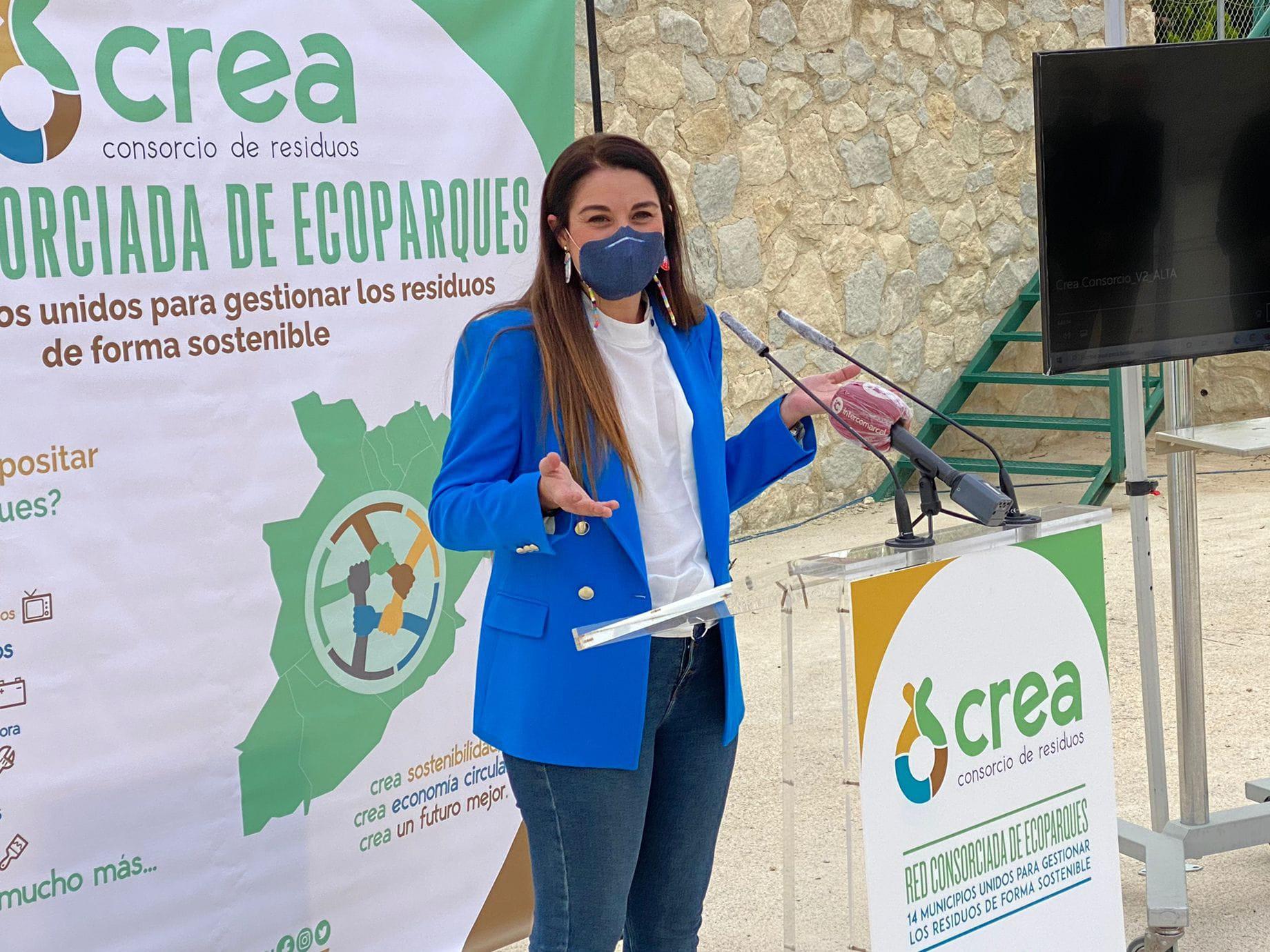 Mireia Mollà visita el ecoparque de Salinas y destaca el modelo de la nueva red que permitirá descuentos en la tasa de residuos de 14 municipios