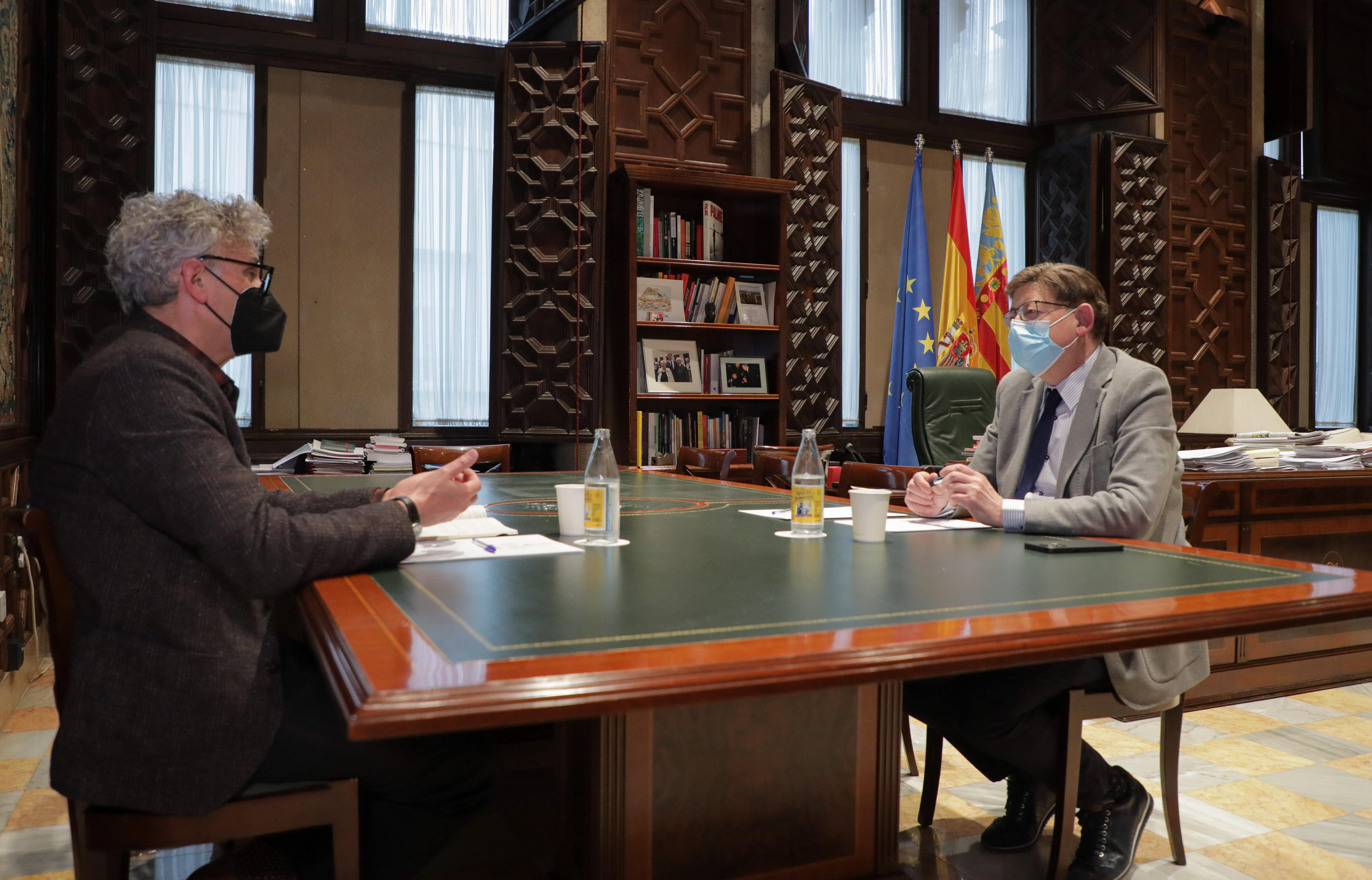 """Ximo Puig anuncia el nomenament de Rafael Tabarés com a comissionat en salut mental """"per a elaborar estratègies i donar resposta als problemes der..."""