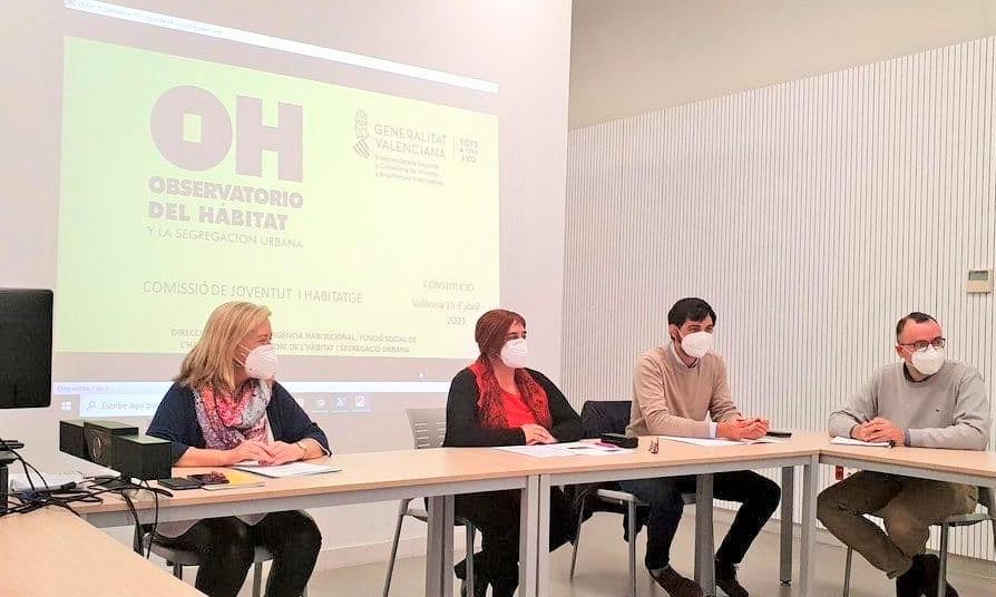 La Generalitat pone en marcha una comisión para estudiar el acceso de la población joven a la vivienda