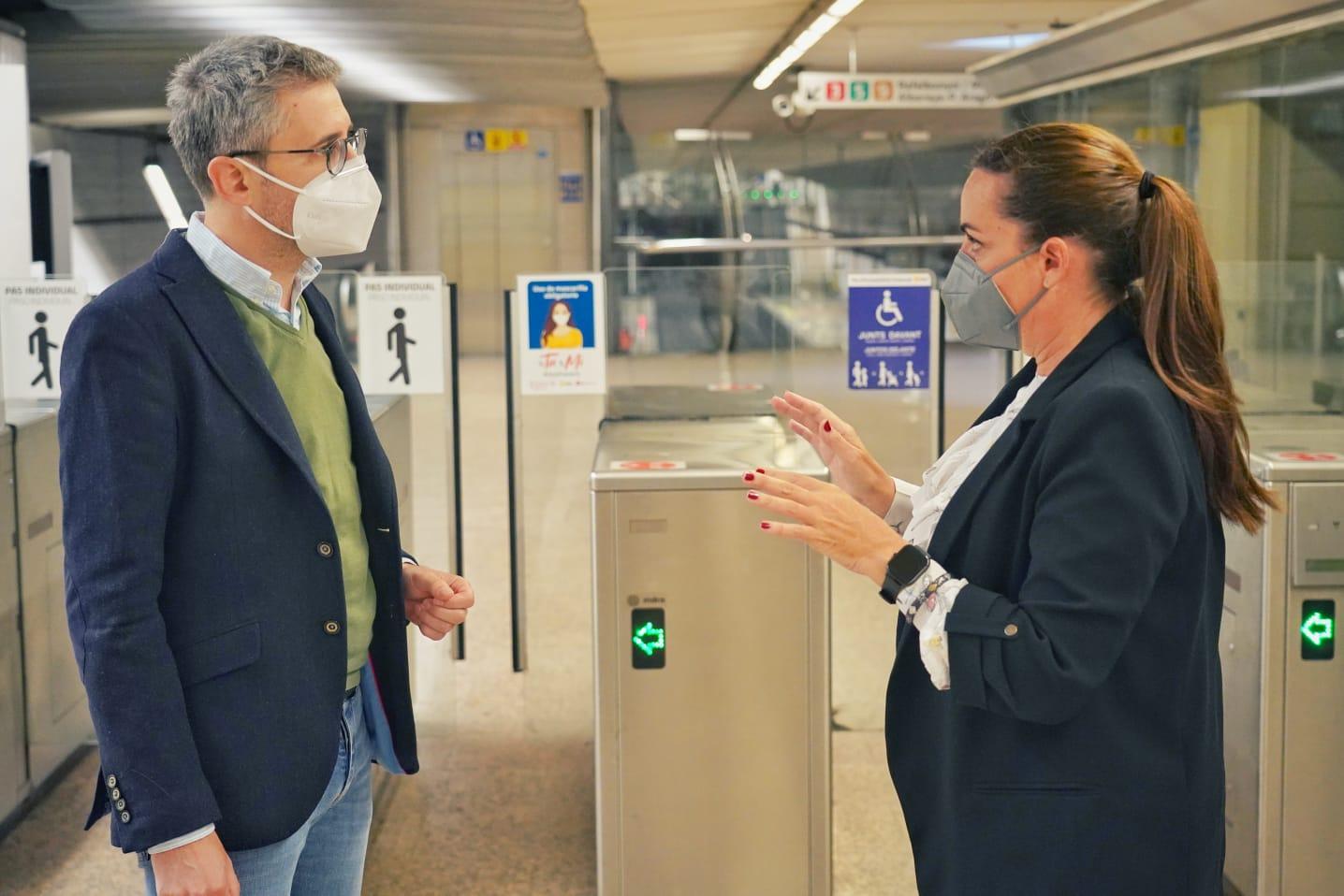 Ferrocarrils de la Generalitat registra en marzo un incremento del 11,84% de los desplazamientos respecto al comienzo de la pandemia