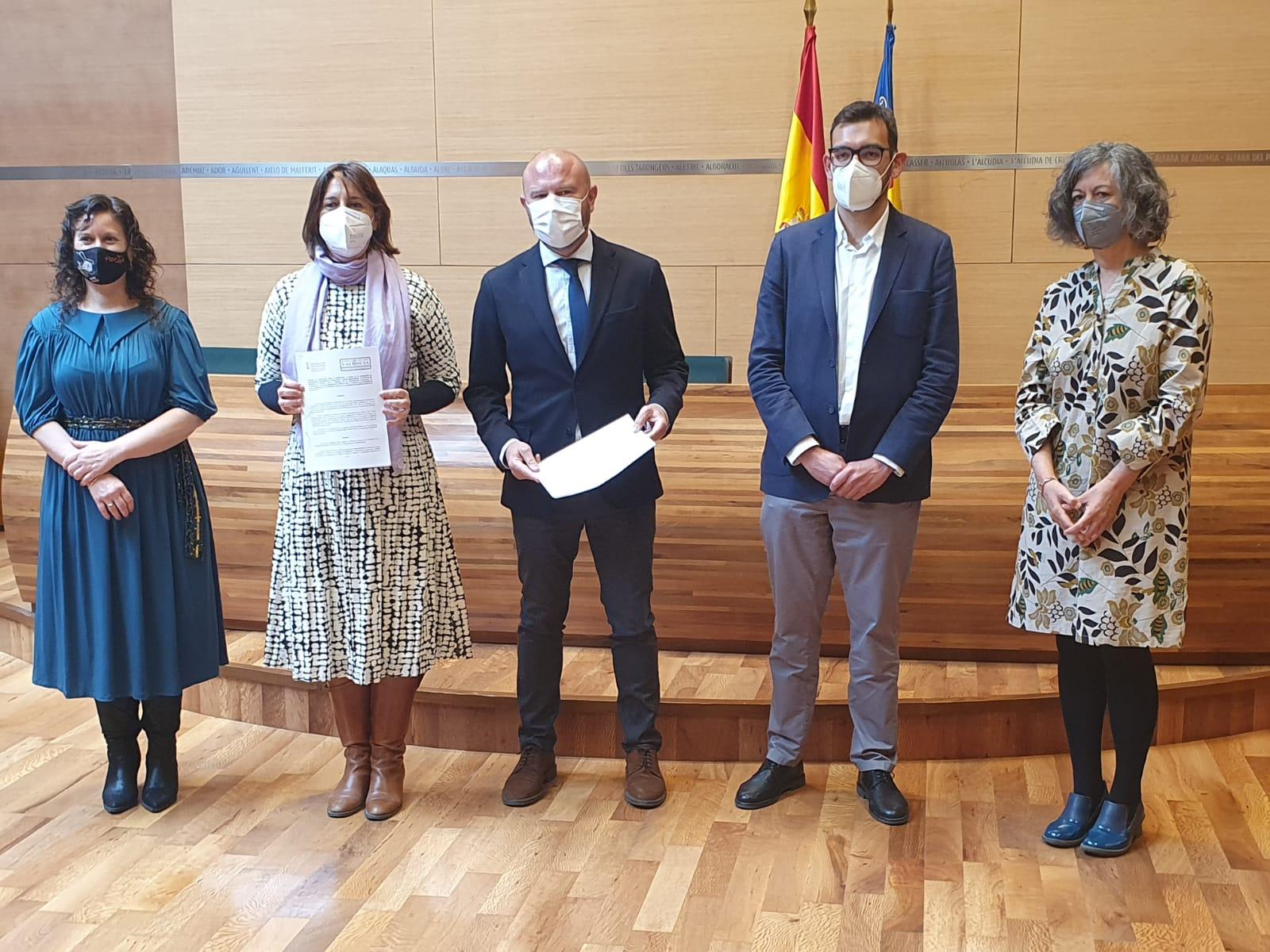 """La Generalitat i la Diputació de València destinen 1 milió d""""euros al foment de la participació, la transparència i el bon govern en l""""àmbit local"""