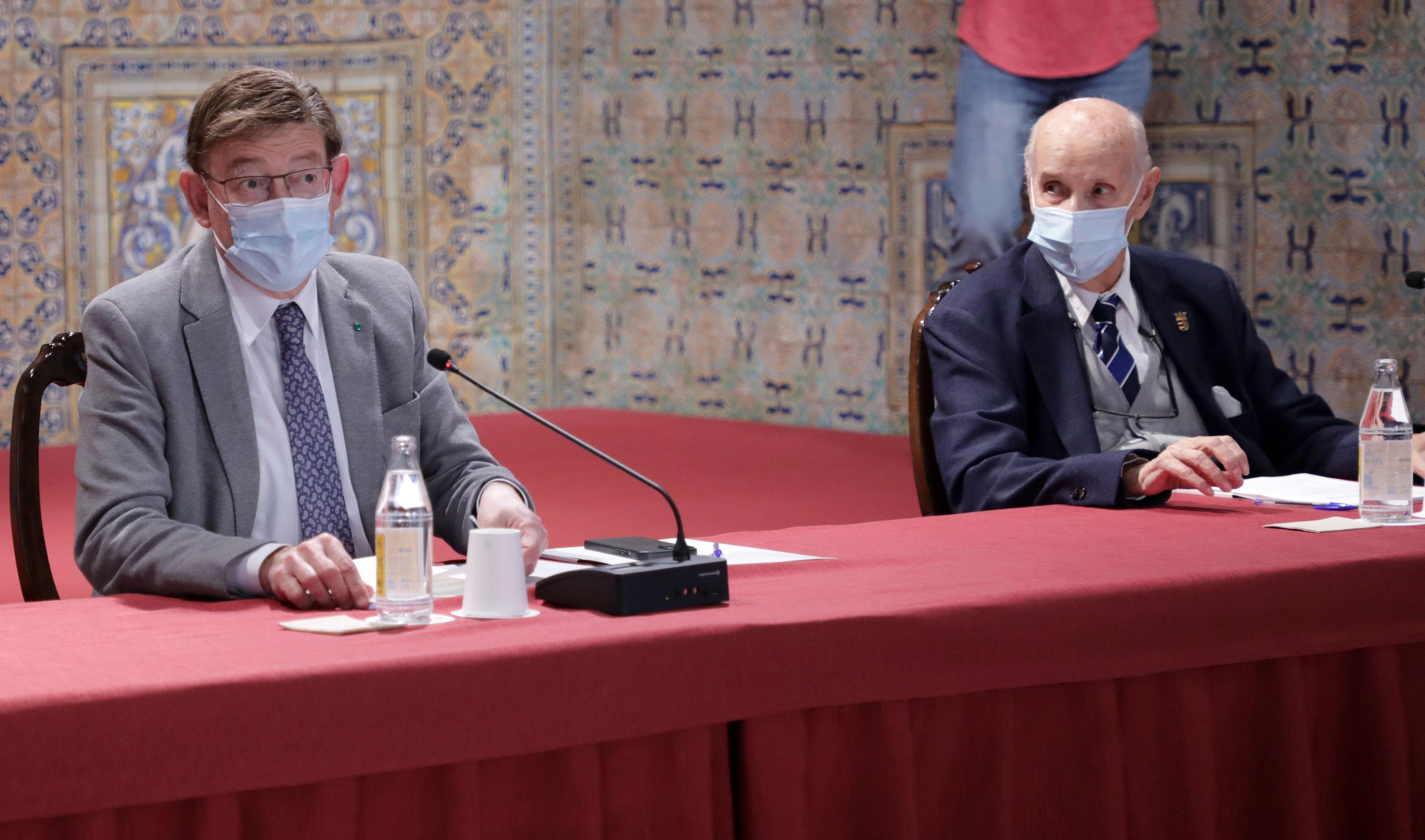 Ximo Puig preside la reunión del Patronato de la Fundación Premios Rei Jaume I