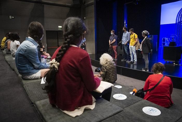El Consejo de la Infancia del Museu de les Ciències asiste a las actividades especiales por el Día de los Museos