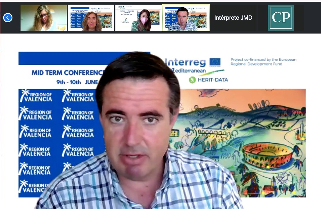 """Turisme organiza la conferencia internacional """"Mid-Term"""" del proyecto europeo Herit-Data que analiza los flujos turísticos en tiempo real"""