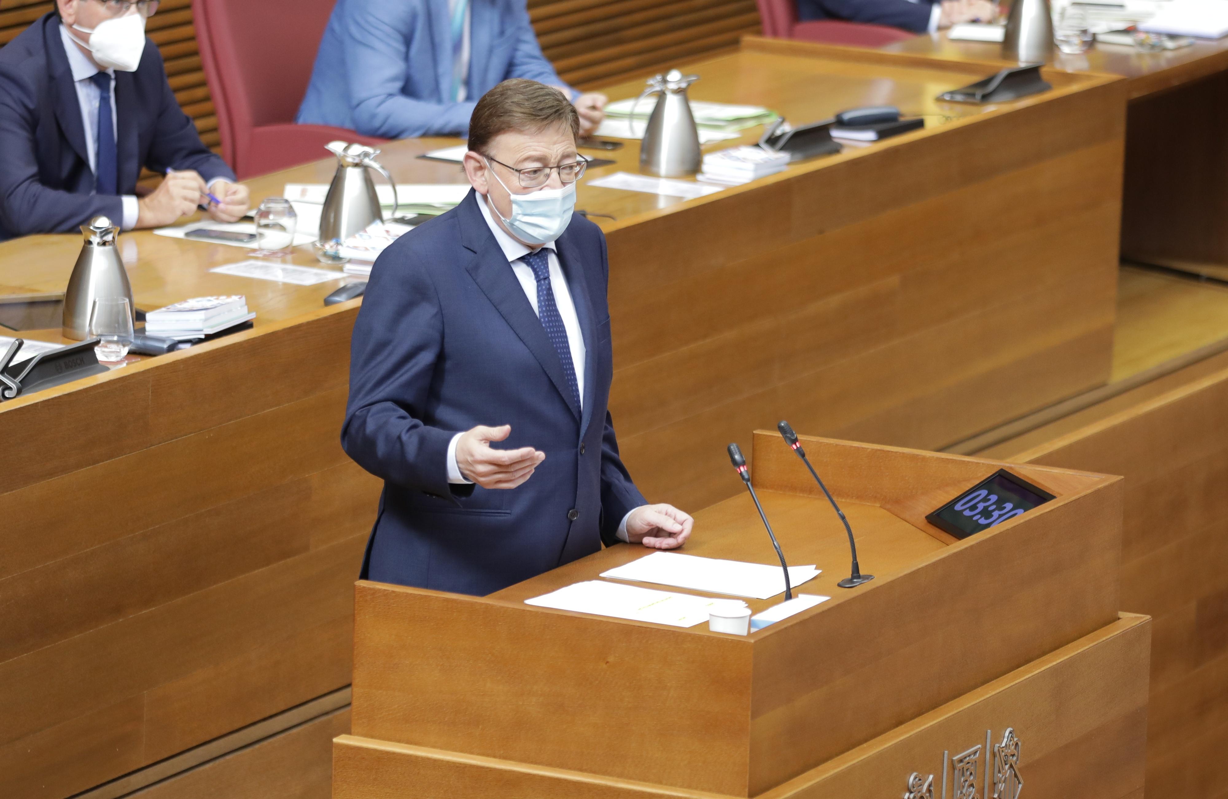 Ximo Puig anuncia un mecanismo para flexibilizar la cita de vacunación y adaptarla a las vacaciones