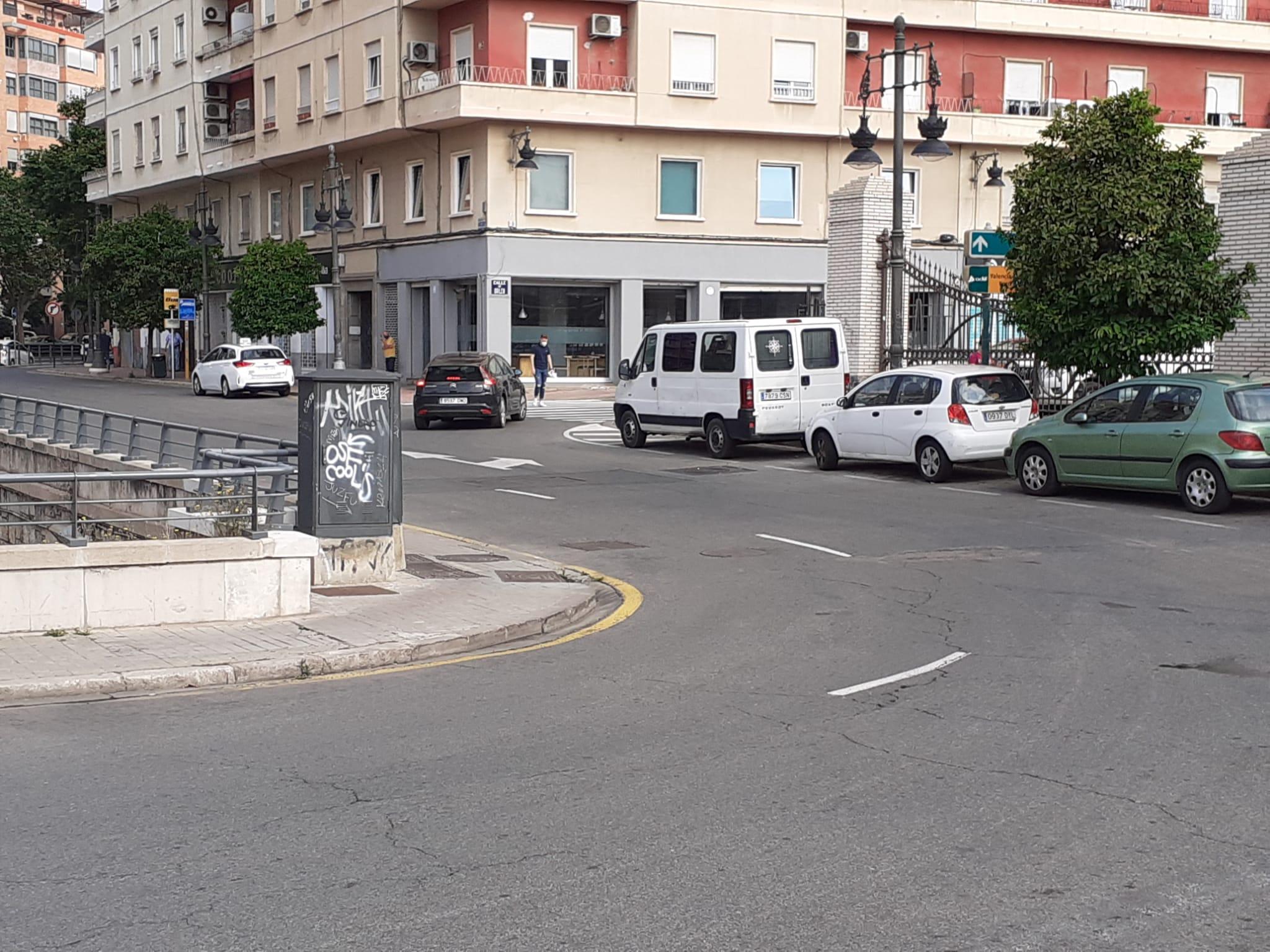 Las obras de la Línea 10 de Metrovalencia obligan a cortar temporalmente la parte superior de la Gran Vía Ramón y Cajal por encima del paso subter...