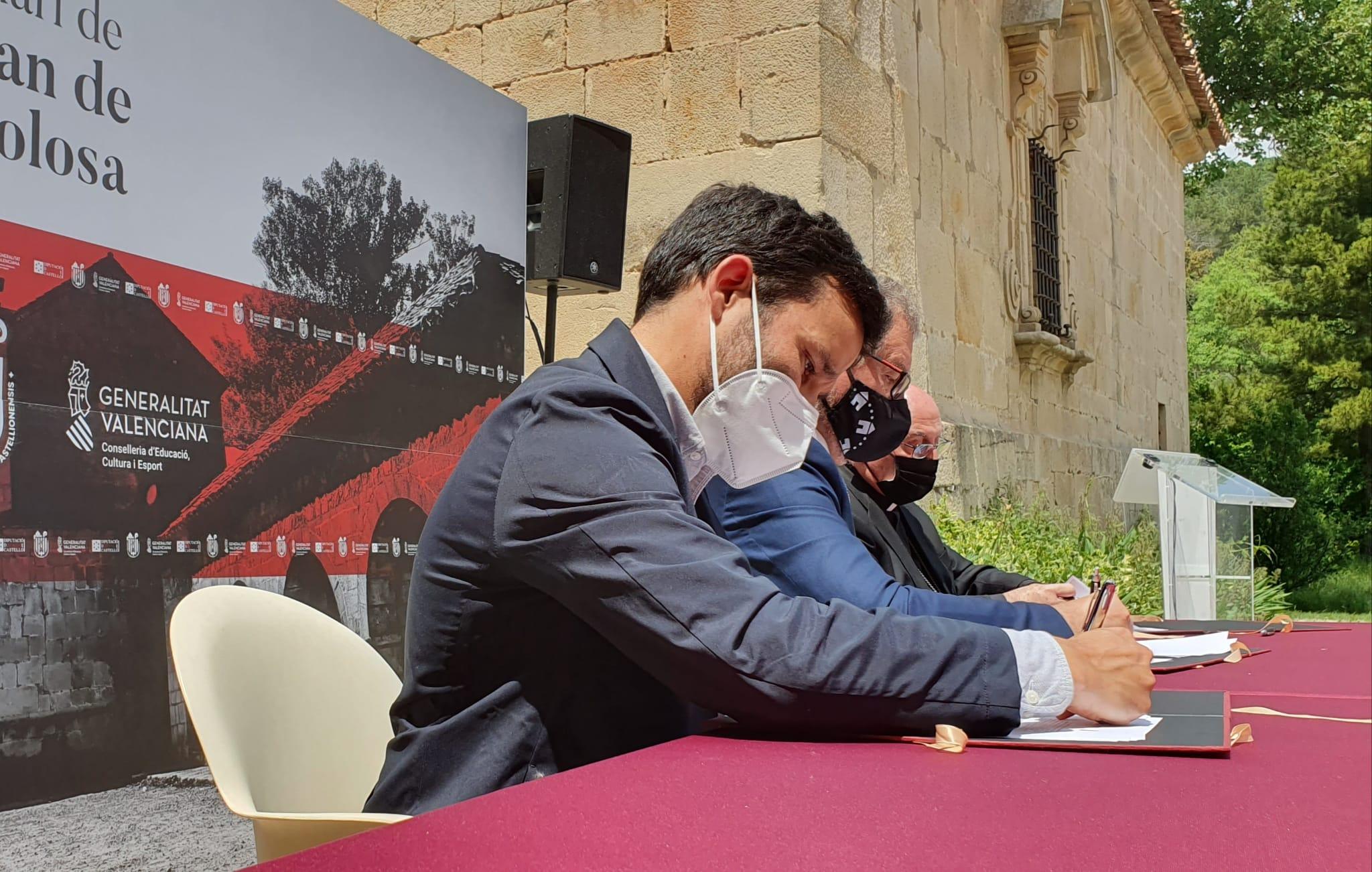 """Marzà: """"Con la rehabilitación de Sant Joan de Penyagolosa impulsamos la recuperación de un símbolo patrimonial, cultural y natural del pueblo vale..."""