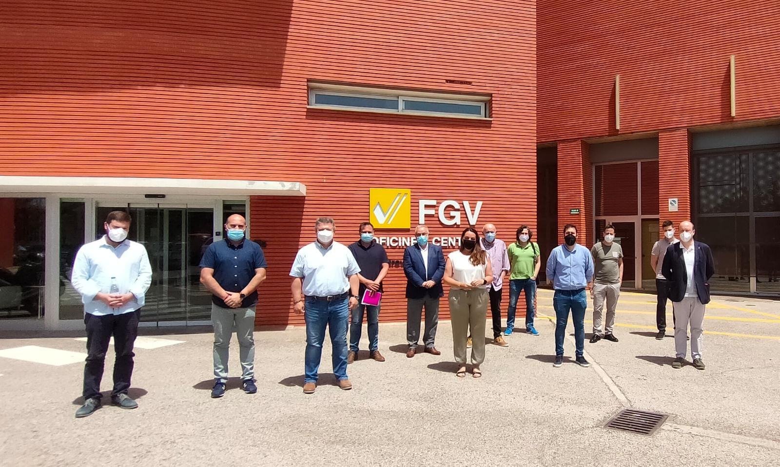 La Generalitat presenta las actuaciones del Plan de Mejora de Frecuencias de Metrovalencia a los municipios entre Alboraia y Rafelbunyol