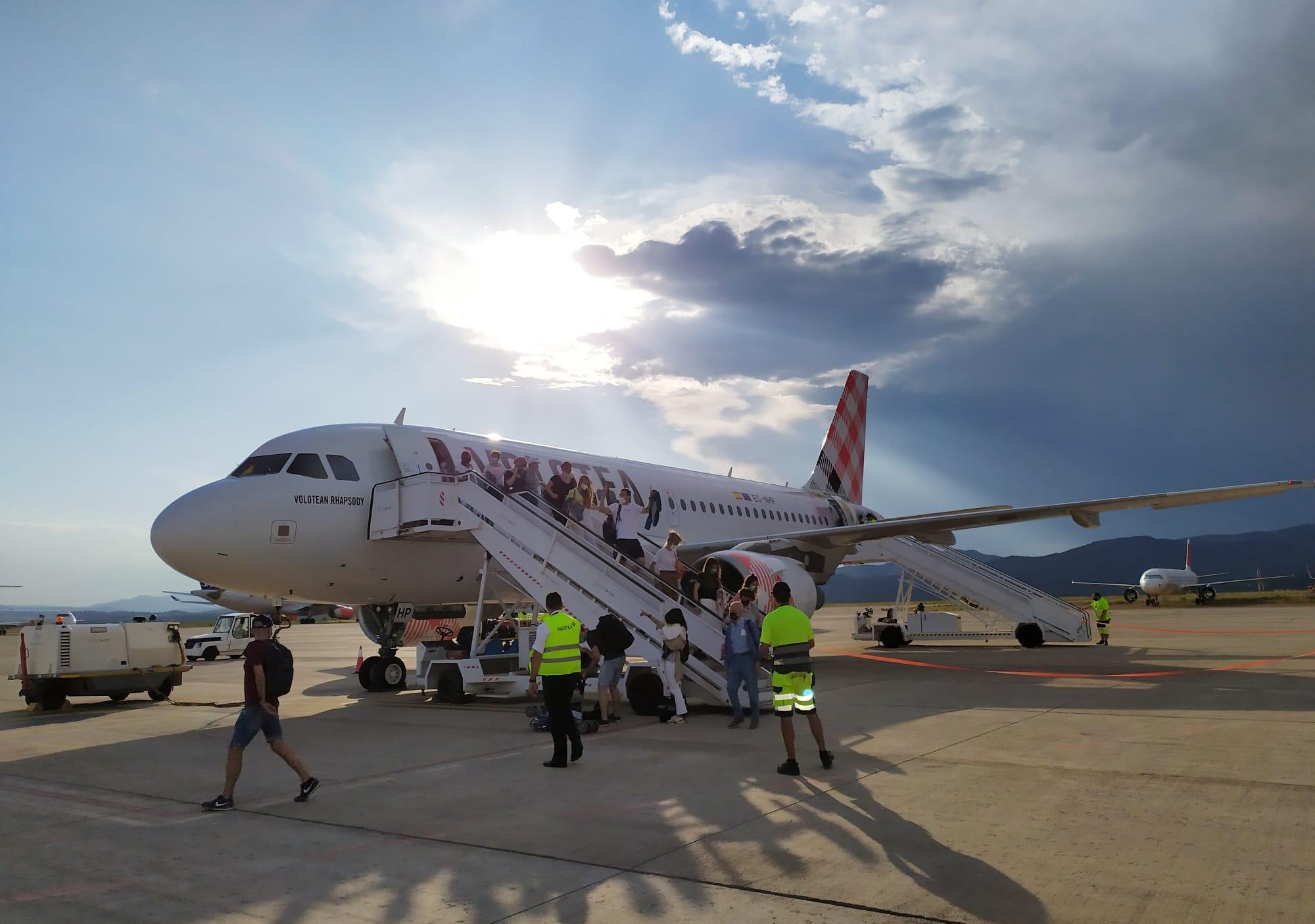 El aeropuerto de Castellón fomenta la captación de turistas nacionales con sendas acciones promocionales en Sevilla y Bilbao