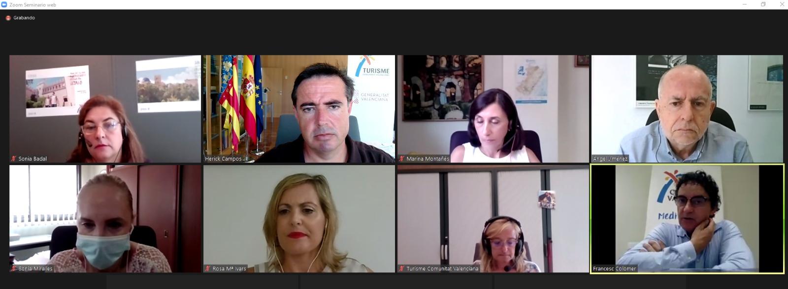 Turisme ultima el decret del Registre de Turisme de la Comunitat Valenciana que contribuirà a la professionalització del sector