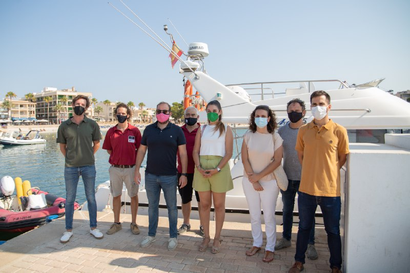 La Conselleria de Transición Ecológica anuncia la creación de un Servicio de Vigilancia de la Posidonia