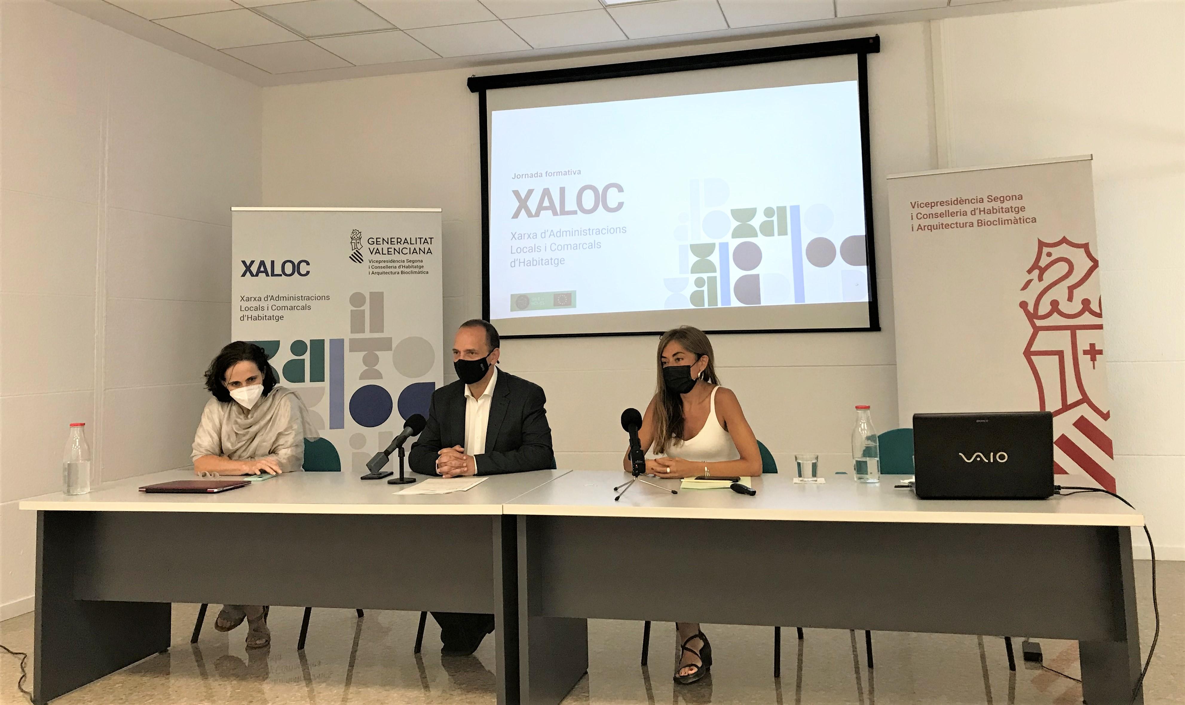 """Martínez Dalmau: """"El nostre objectiu és que la xarxa XALOC possibilite a 4.300.000 persones l""""accés directe a les oficines d""""habitatge"""""""