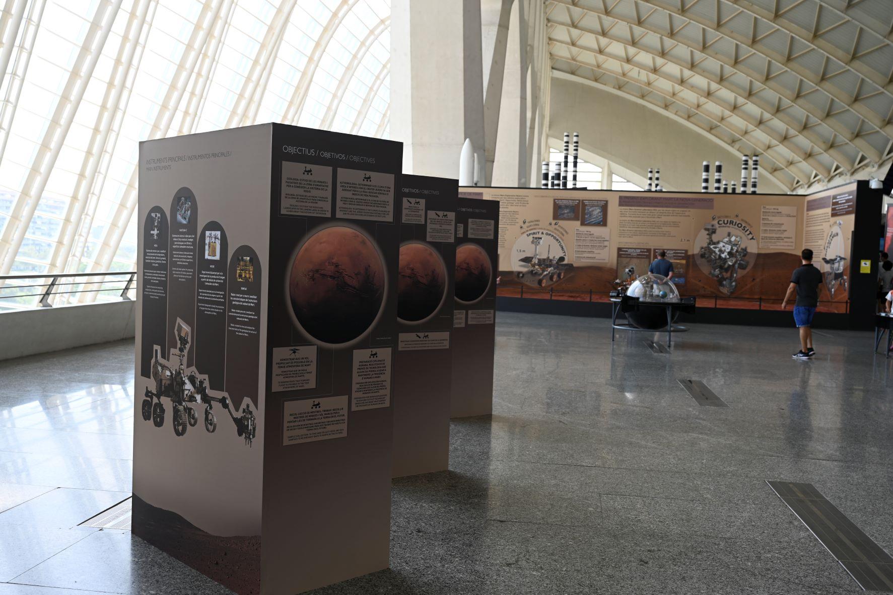 """Les Ciències amplia continguts de """"Mart. La conquesta d""""un espai"""""""