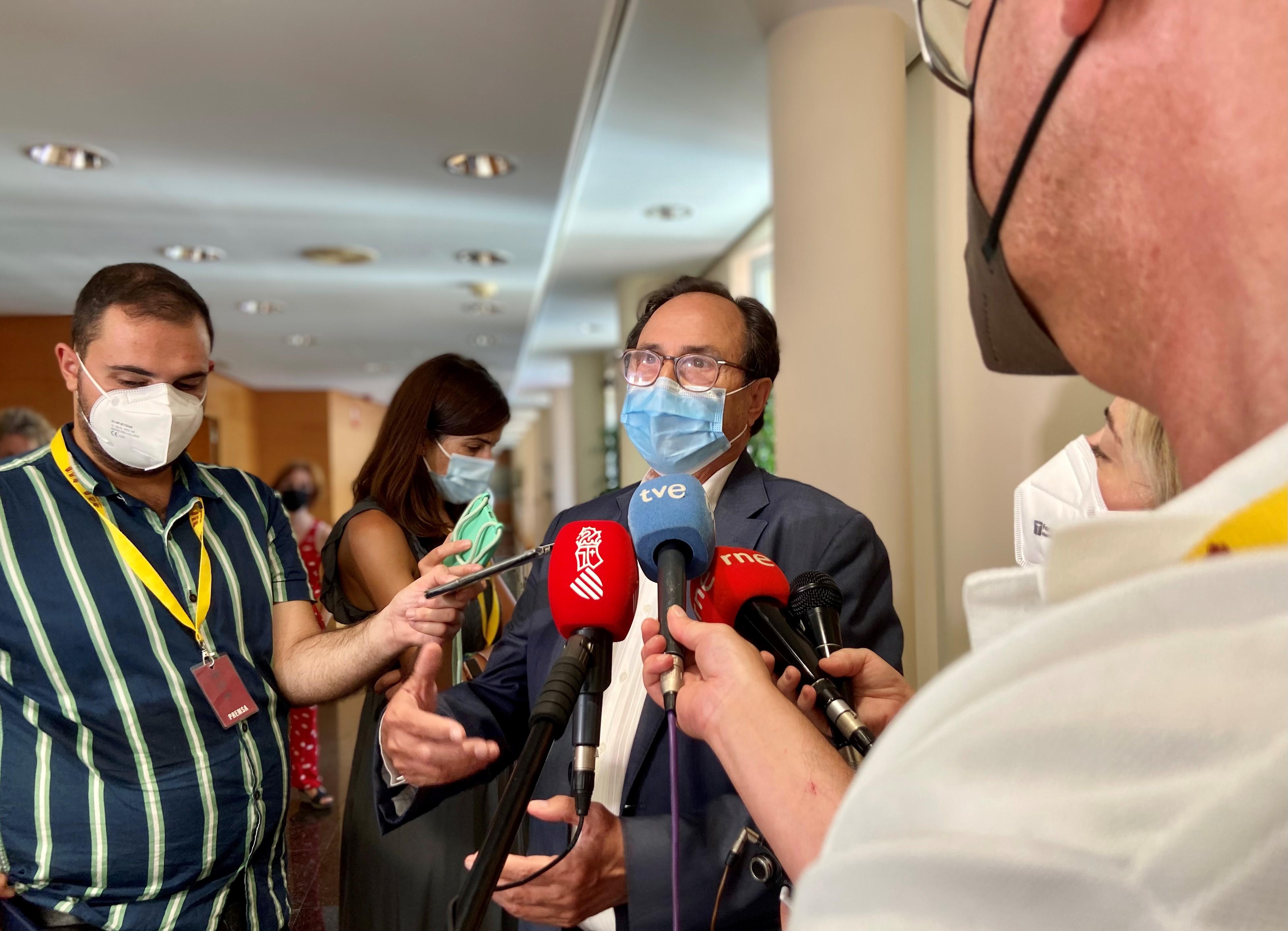"""Soler: """"El mensaje unánime de la Comunitat Valenciana es que la reforma del modelo de financiación es ahora más perentoria que nunca"""""""