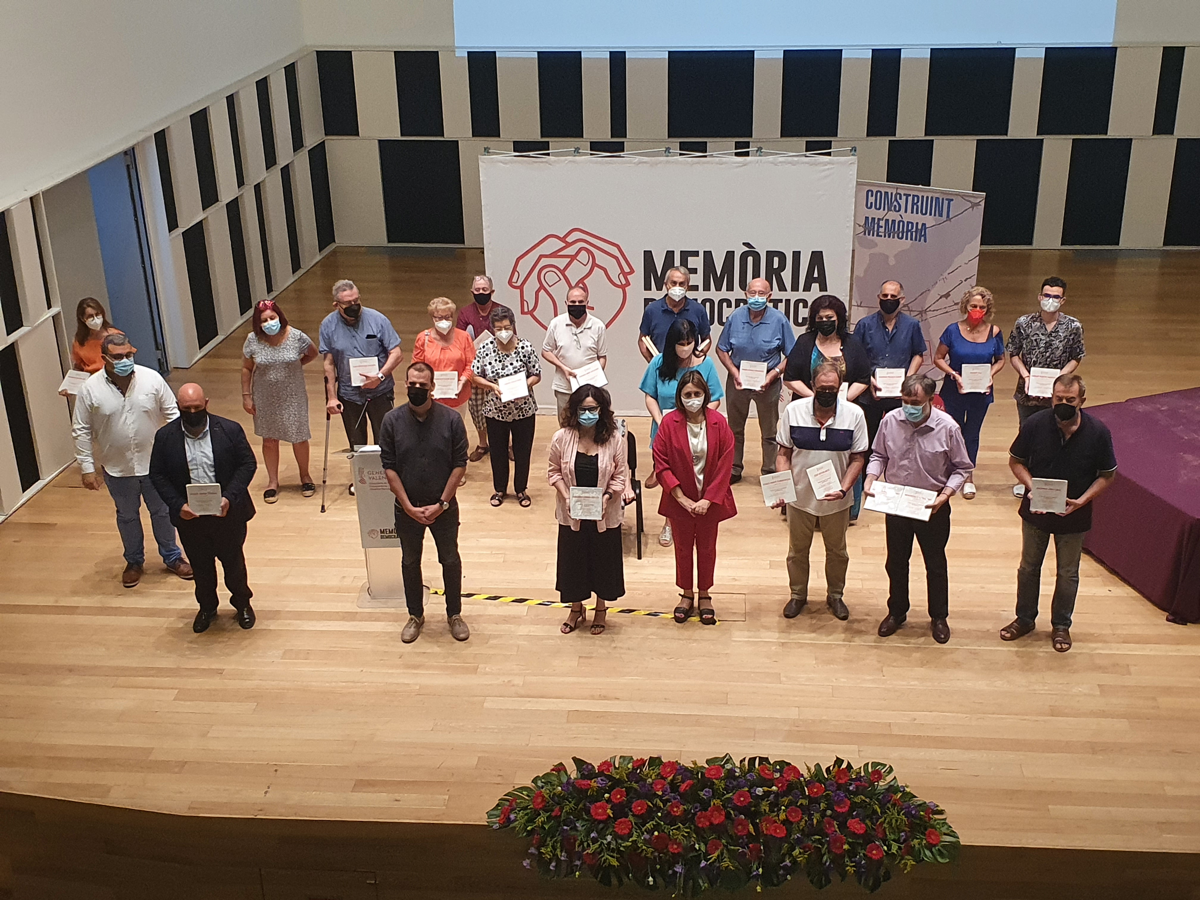 Pérez Garijo rinde homenaje a 27 personas de la comarca de la Ribera Alta víctimas del Holocausto