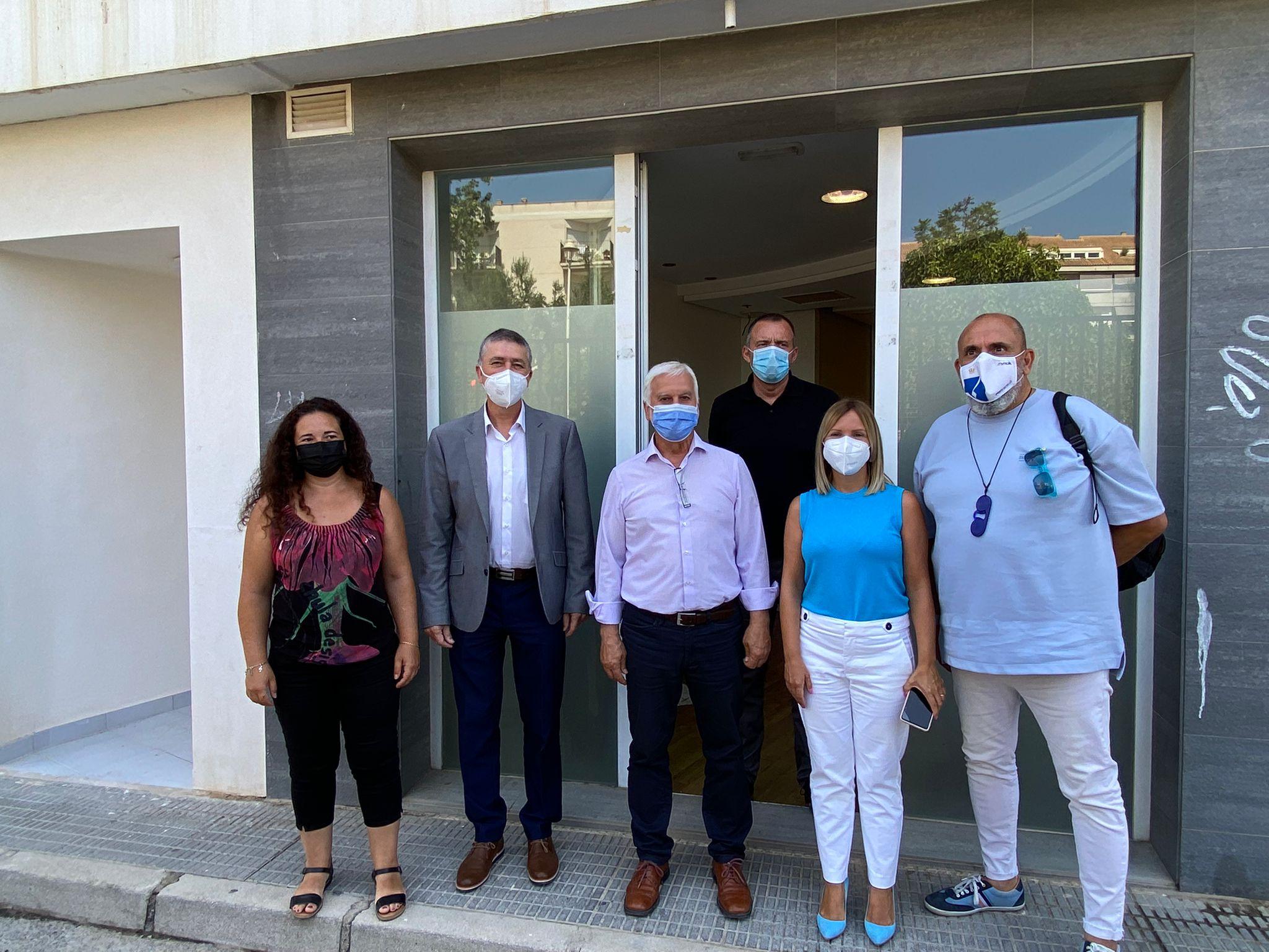 """Climent presenta a Altea el primer centre de la Comunitat Valenciana dedicat en exclusiva a l""""orientació laboral"""