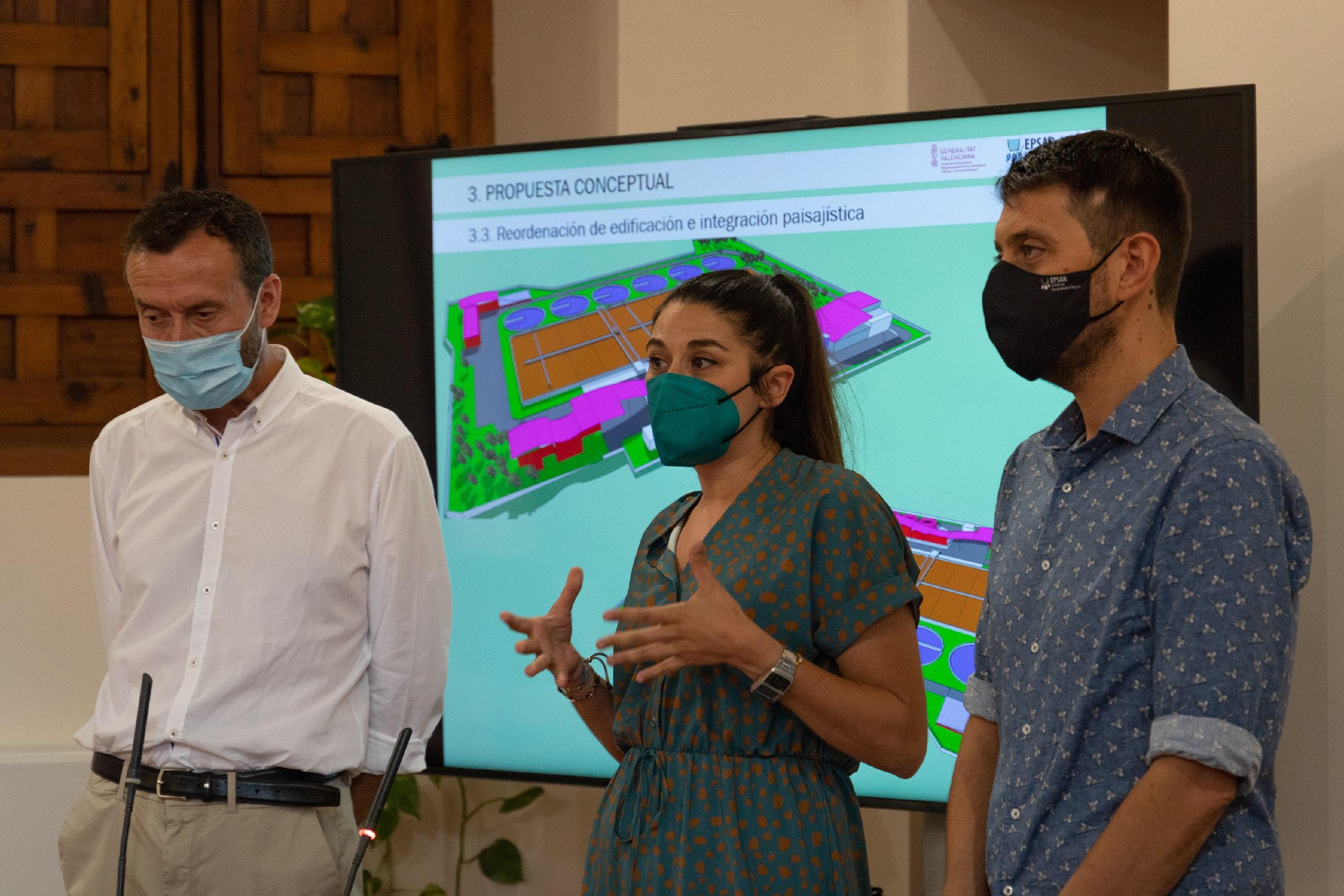 La Conselleria de Transición Ecológica invertirá 50 millones de euros en la renovación integral de la depuradora de Elche