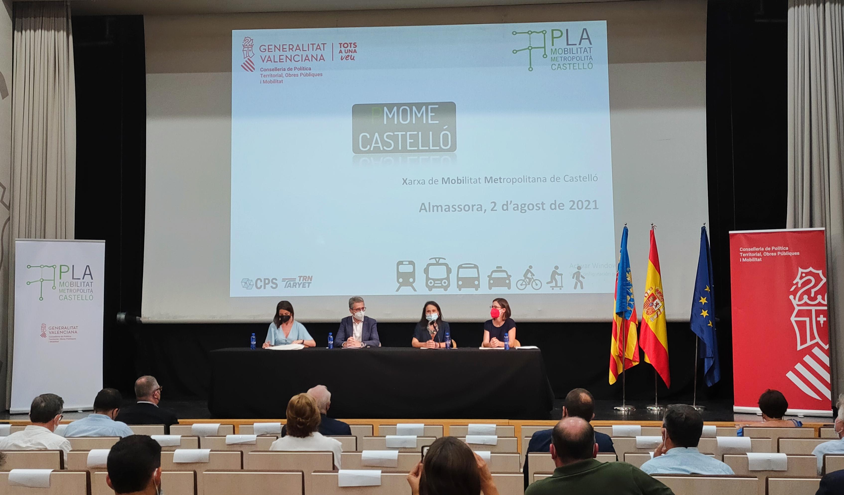 """La Generalitat se compromete a impulsar el Bulevar de la Plana como eje de conexión """"prioritario"""" para una movilidad """"más eficiente y sostenible"""""""