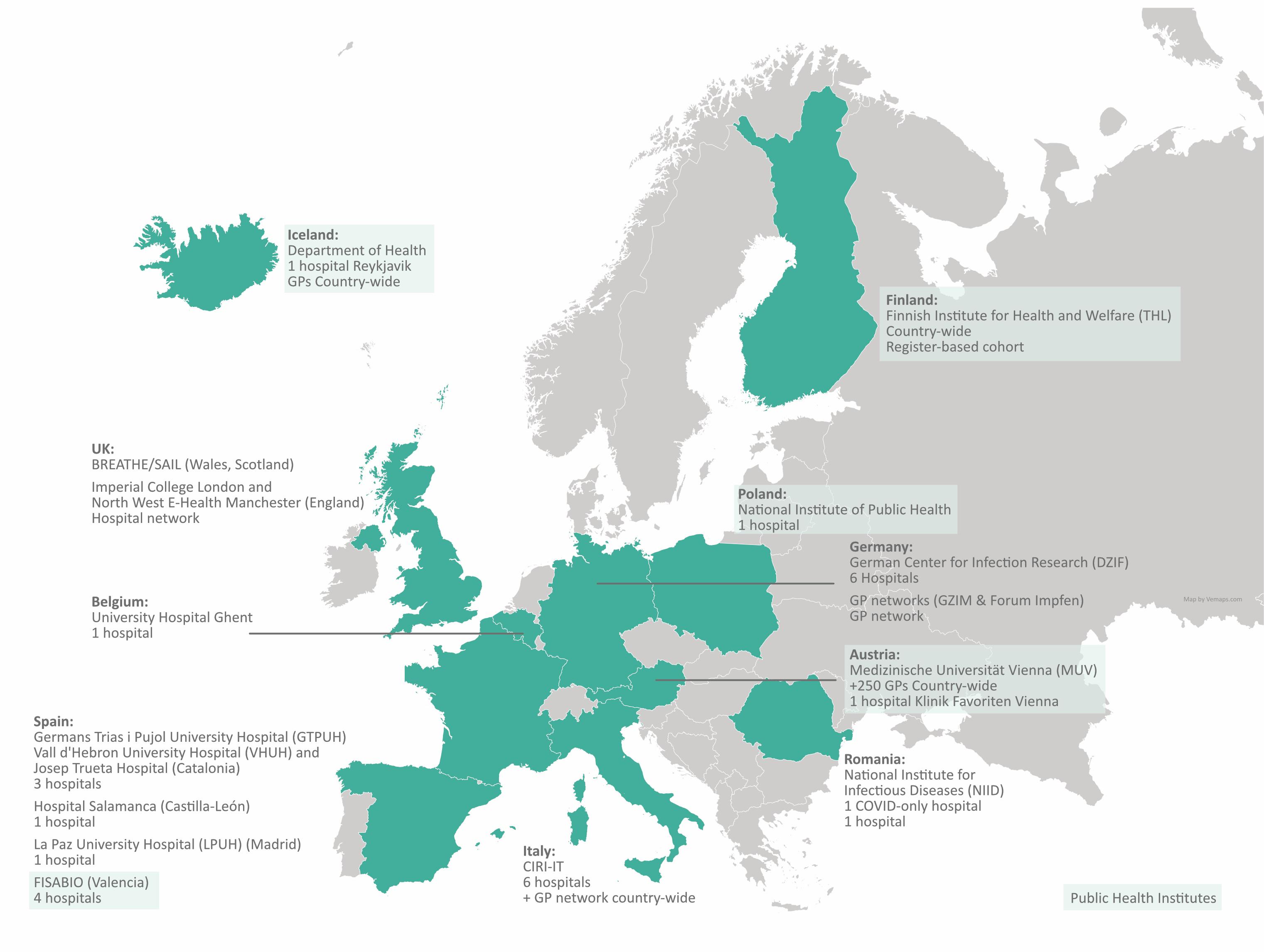 Fisabio coordina la plataforma internacional para estudiar la efectividad de las vacunas frente a la COVID-19 en Europa