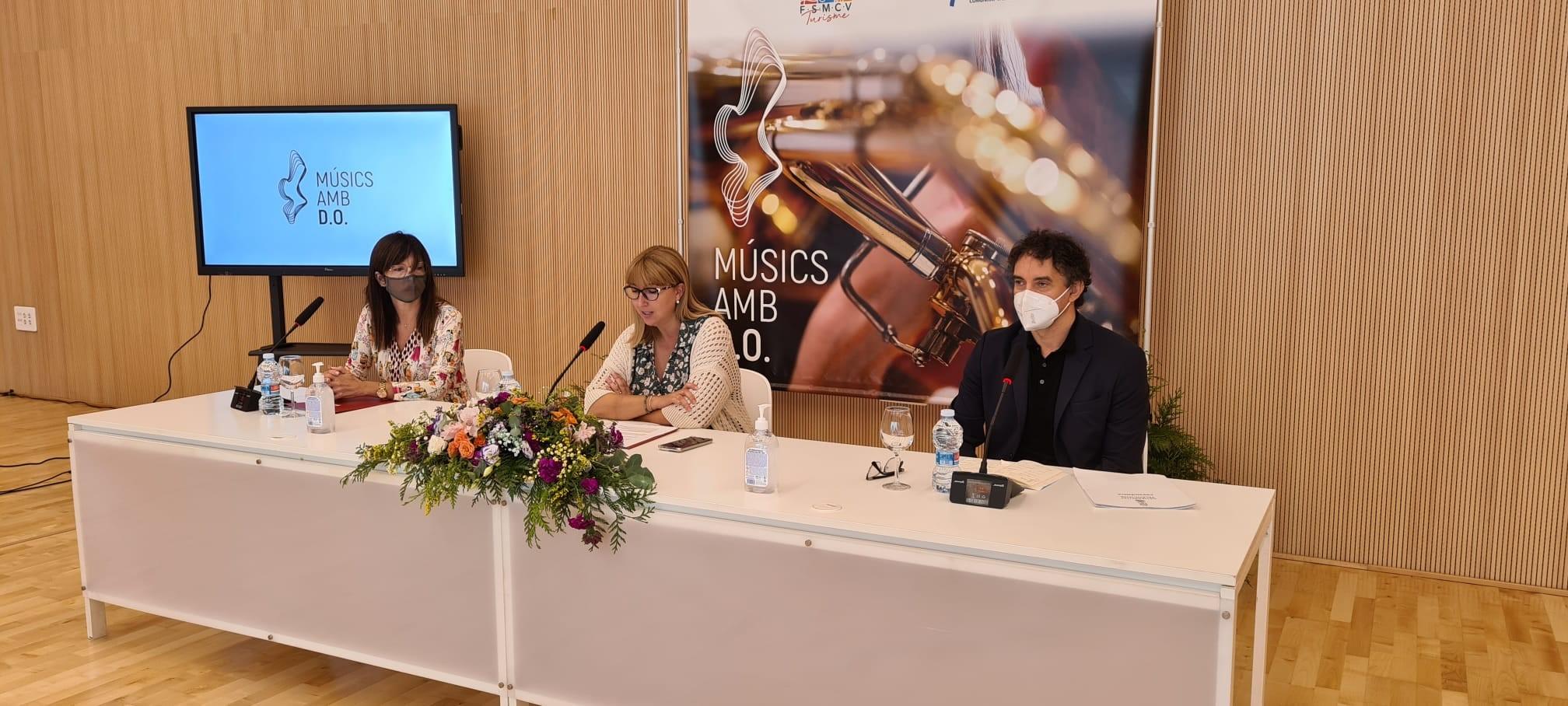 """Turisme CV i la Federació de Societats Musicals de la Comunitat Valenciana llancen la campanya """"Músics amb D.O."""""""