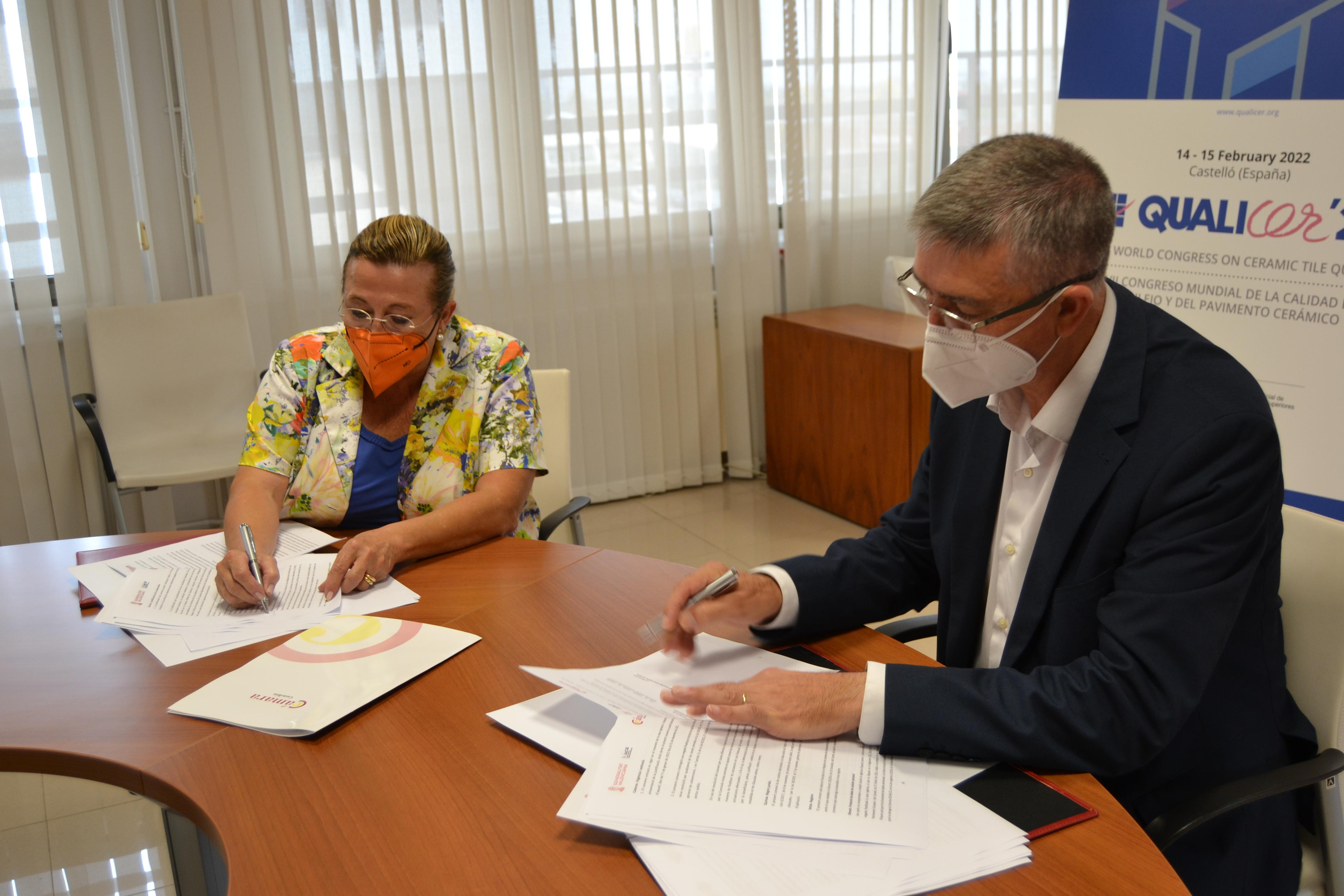 Economia dona suport a la Cambra de Castelló per a la divulgació del congrés Qualicer 2022
