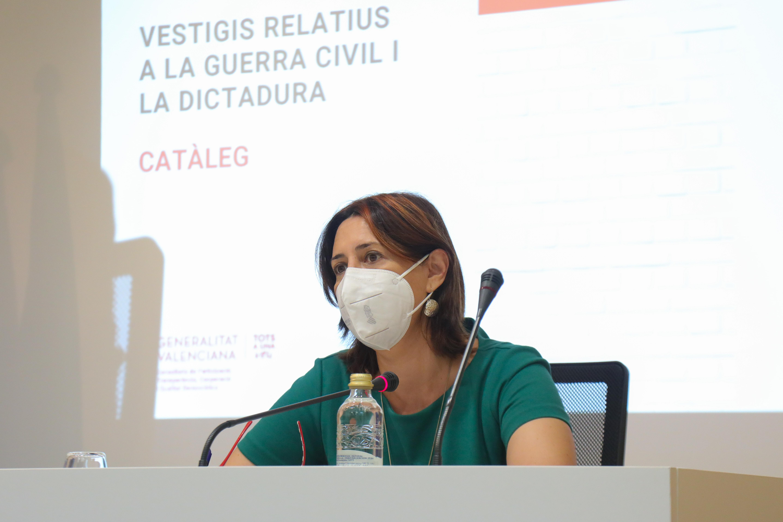"""La Generalitat presenta el """"Catálogo de Vestigios de la Guerra Civil y la Dictadura"""" que incluye 575 elementos pendientes de retirar"""