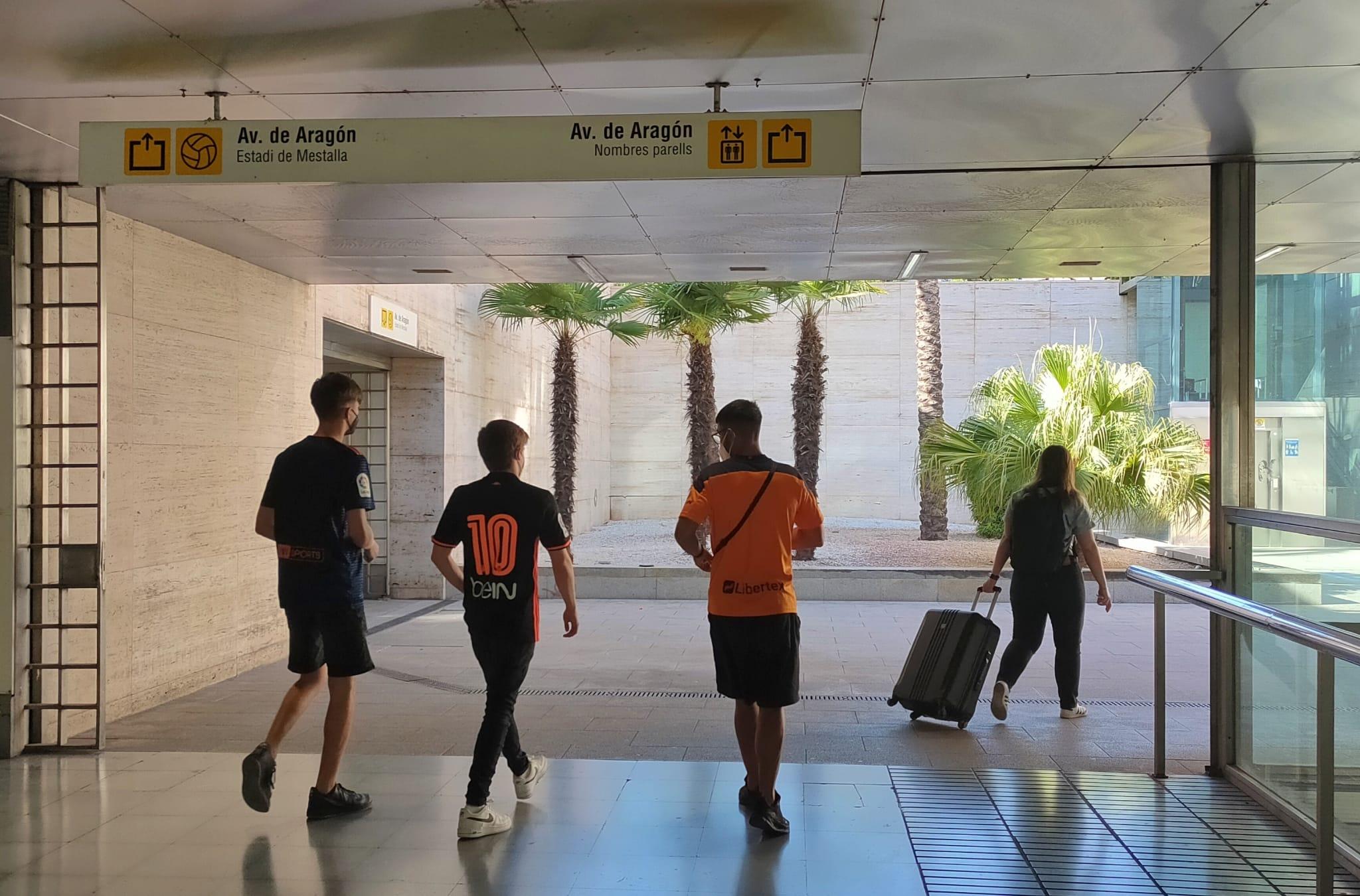 Metrovalencia facilita el acceso y regreso al partido que disputan el próximo domingo Valencia CF y Real Madrid