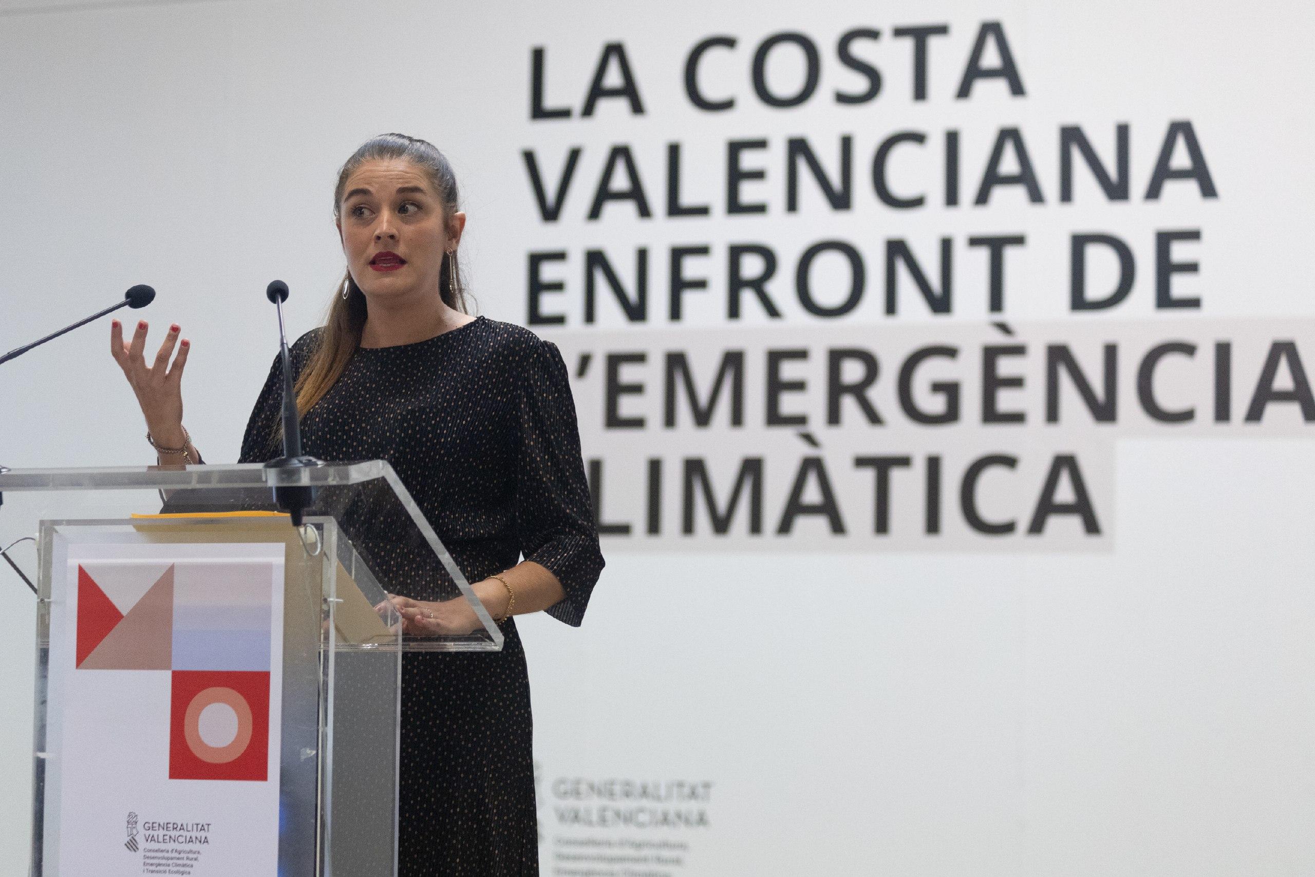 """Transició Ecològica presenta un visor que permet veure l""""impacte climàtic sobre la costa valenciana"""