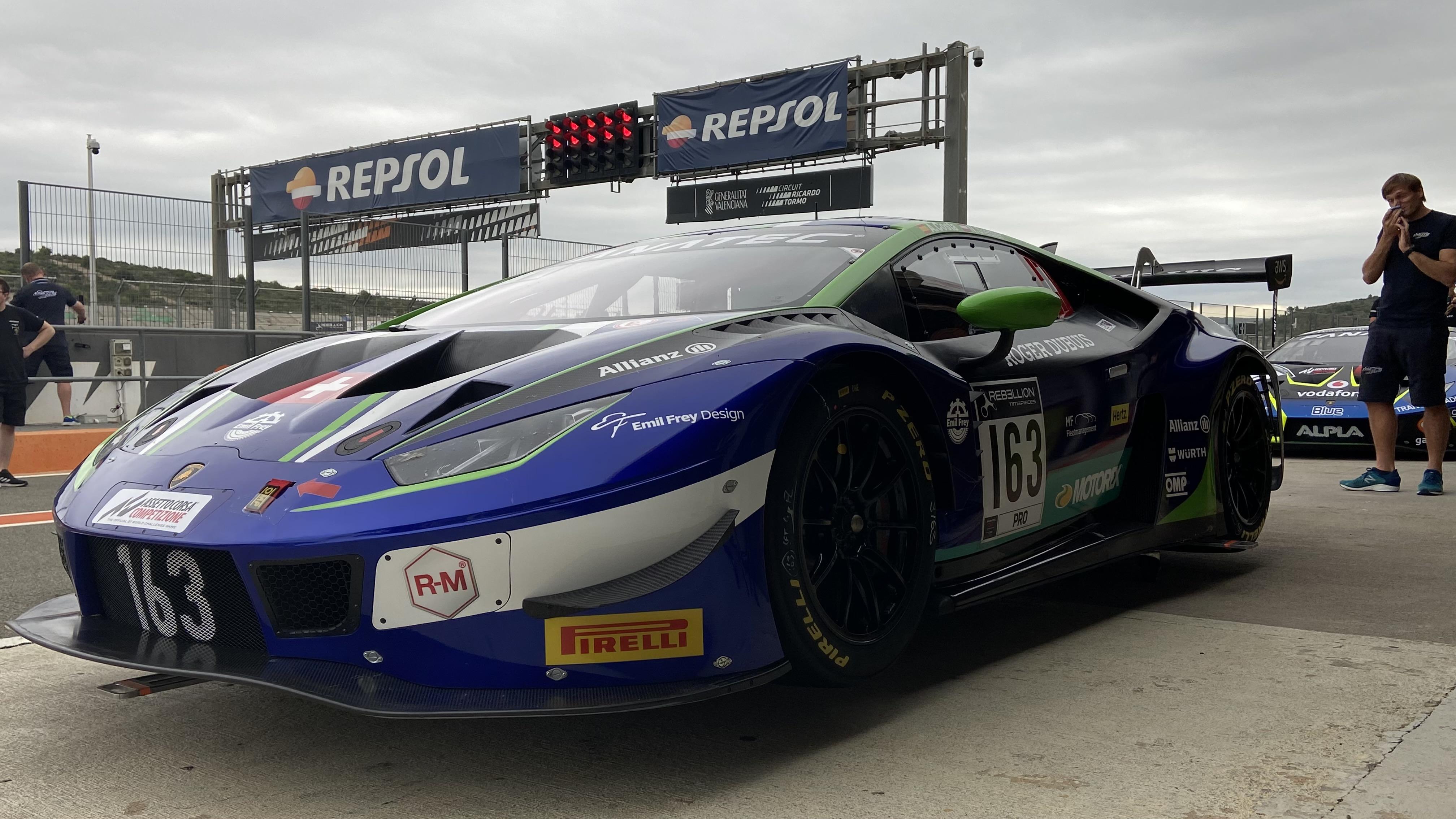 Los mejores GT del mundo compiten este fin de semana en el Circuit Ricardo Tormo