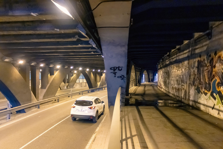 """Las obres de l""""L10 de Metrovalencia a Bailén obliguen a tallar el trànsit durant la nit en el túnel de Gran Via en direcció plaça d""""Espanya"""