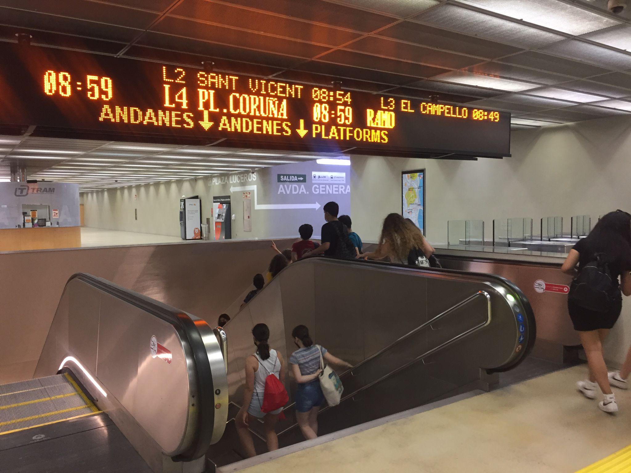 """TRAM d""""Alacant registra 954.478 viatges al setembre i recupera el 92 % dels desplaçaments de 2019"""