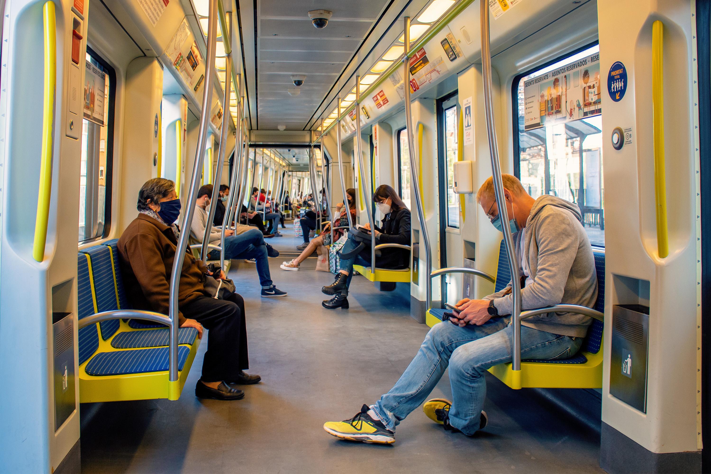 Metrovalencia registra 4,5 millones de viajes en septiembre y prácticamente recupera el 80% de los desplazamientos de 2019